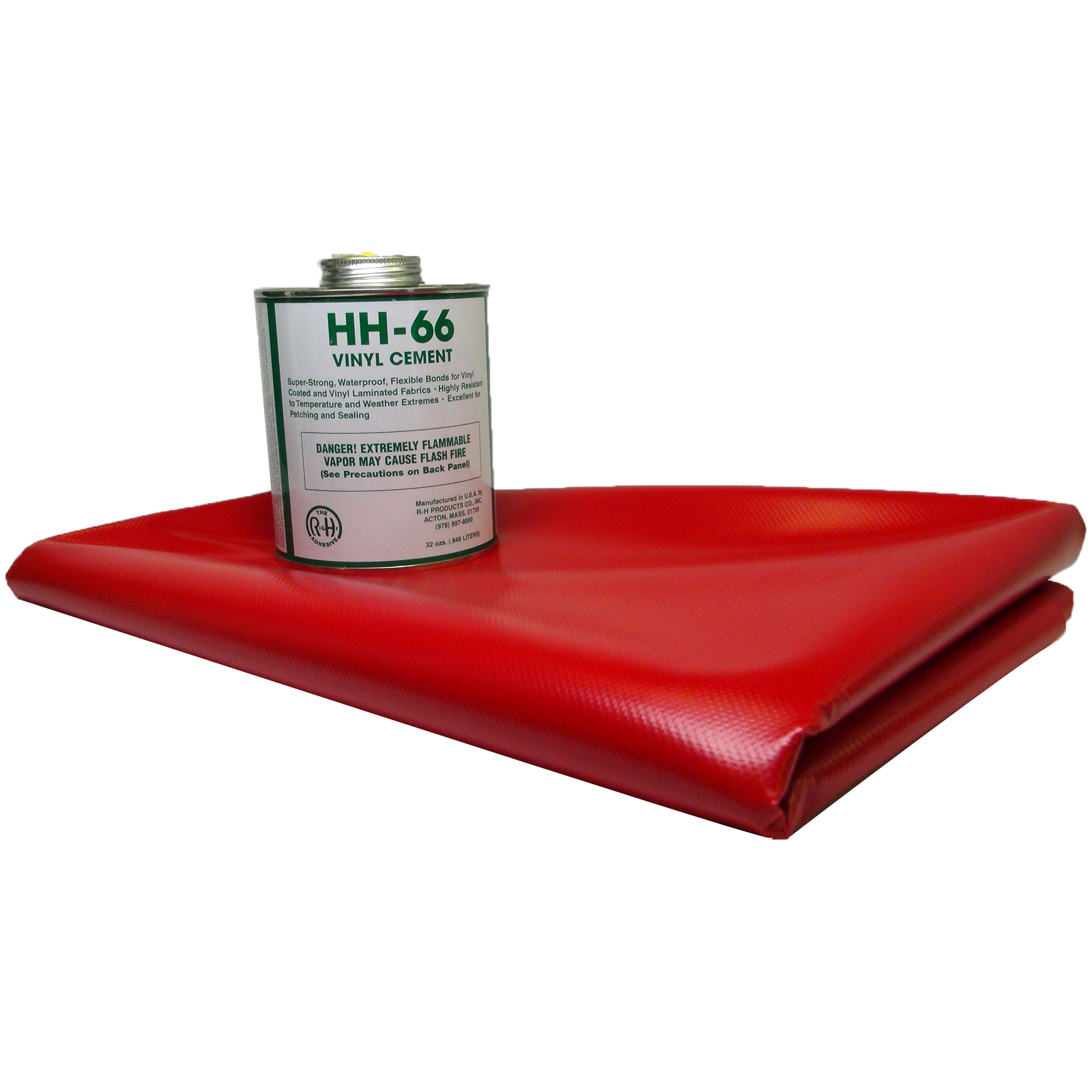22oz Vinyl Repair Patch Kit Red Ebay