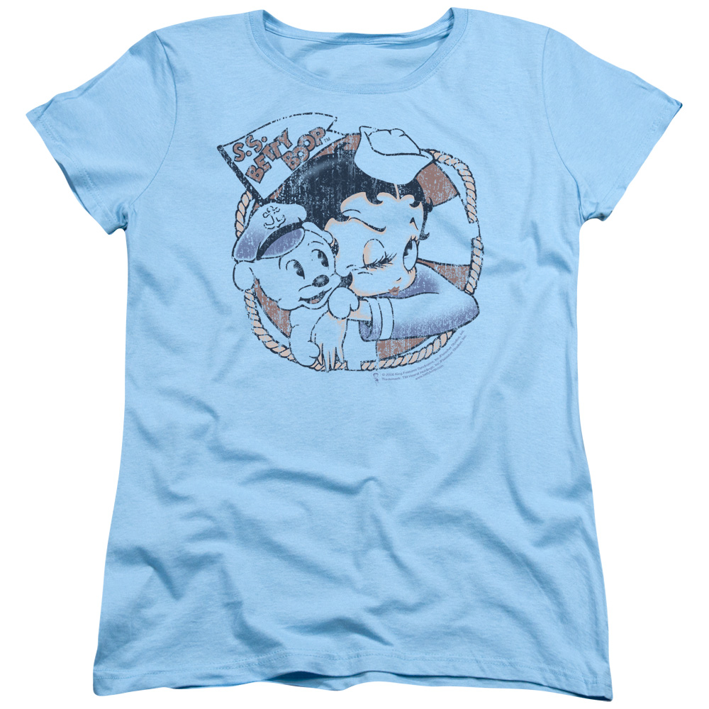 Betty Boop Cartoon S.S. Vintage Women's T-Shirt Tee at Sears.com