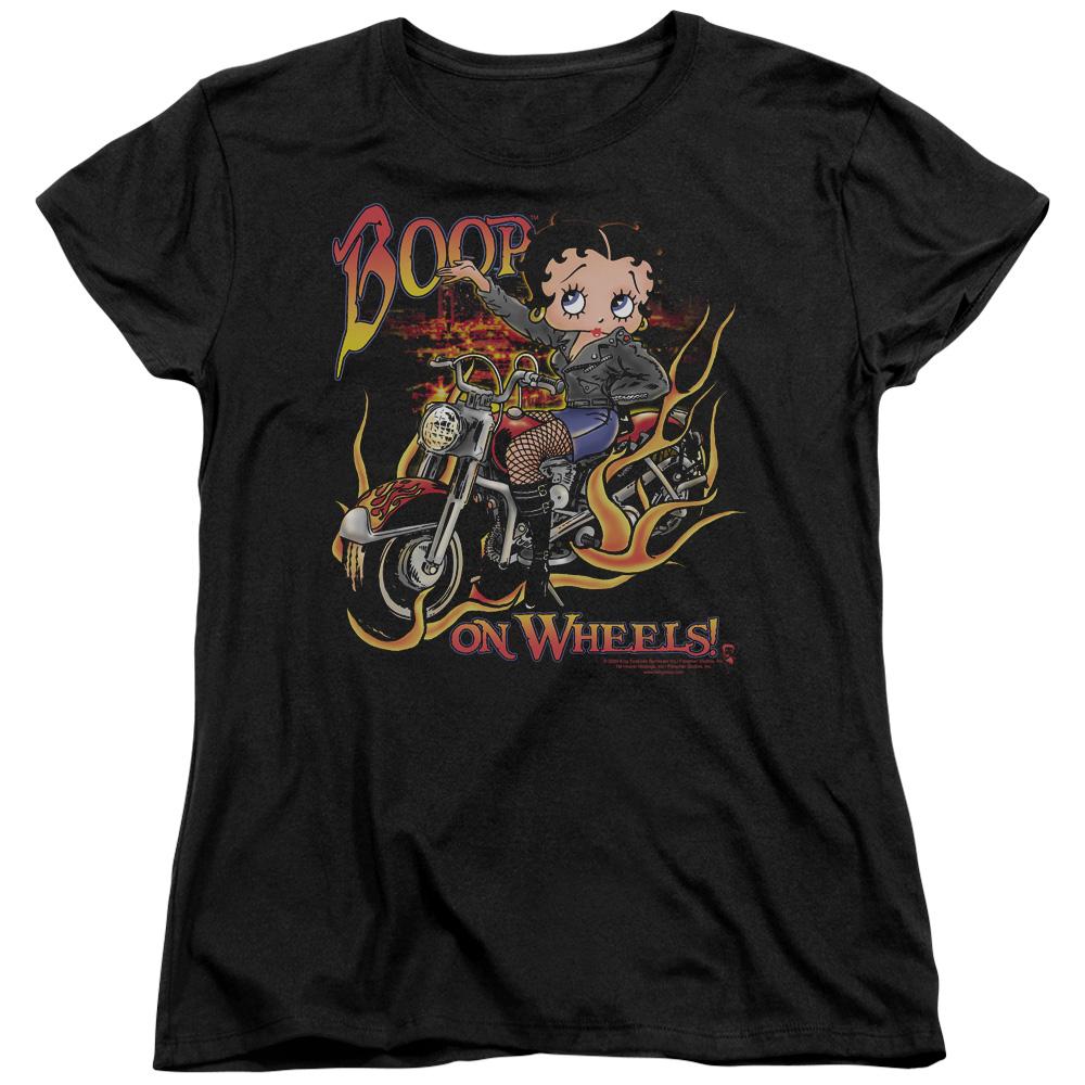 Betty Boop Cartoon On Wheels Women's T-Shirt Tee at Sears.com