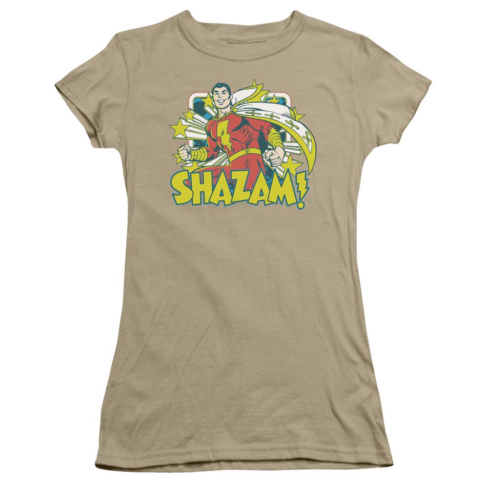 DC Comics Shazam Stars Juniors Sheer T-Shirt Tee at Sears.com