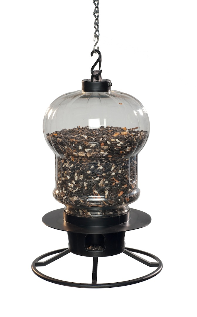 First Nature 3001 Globe Style Seed Selector With Chain & Ring Perch Holds 5 Lbs at Sears.com