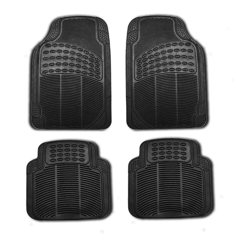 Rubber floor mats for lincoln mkx - Color Black