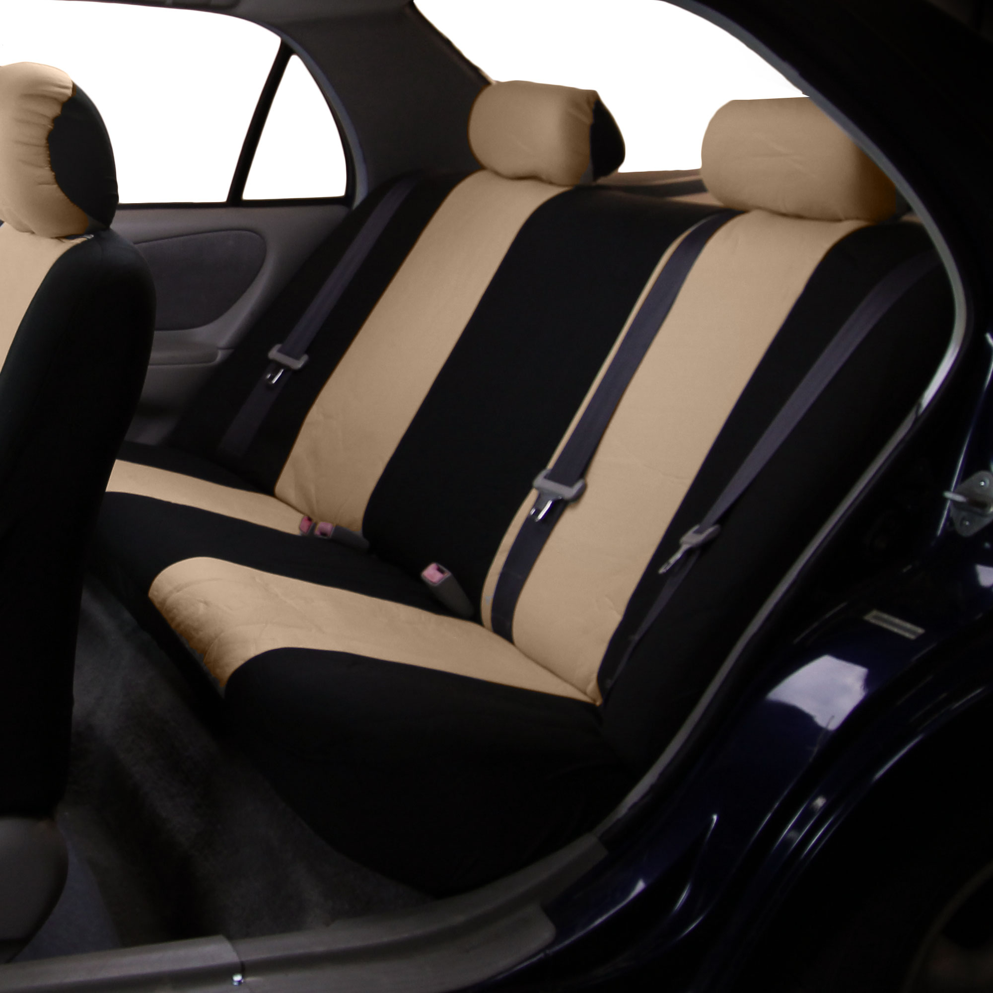 car seat covers for rear seat luxury sporty for car suv minivan ebay. Black Bedroom Furniture Sets. Home Design Ideas