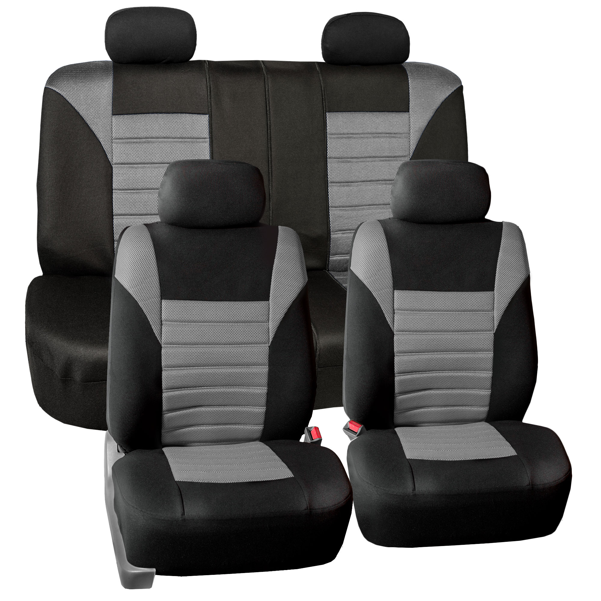 Air Mesh Car Seat Covers For Auto Car SUV Van With 4