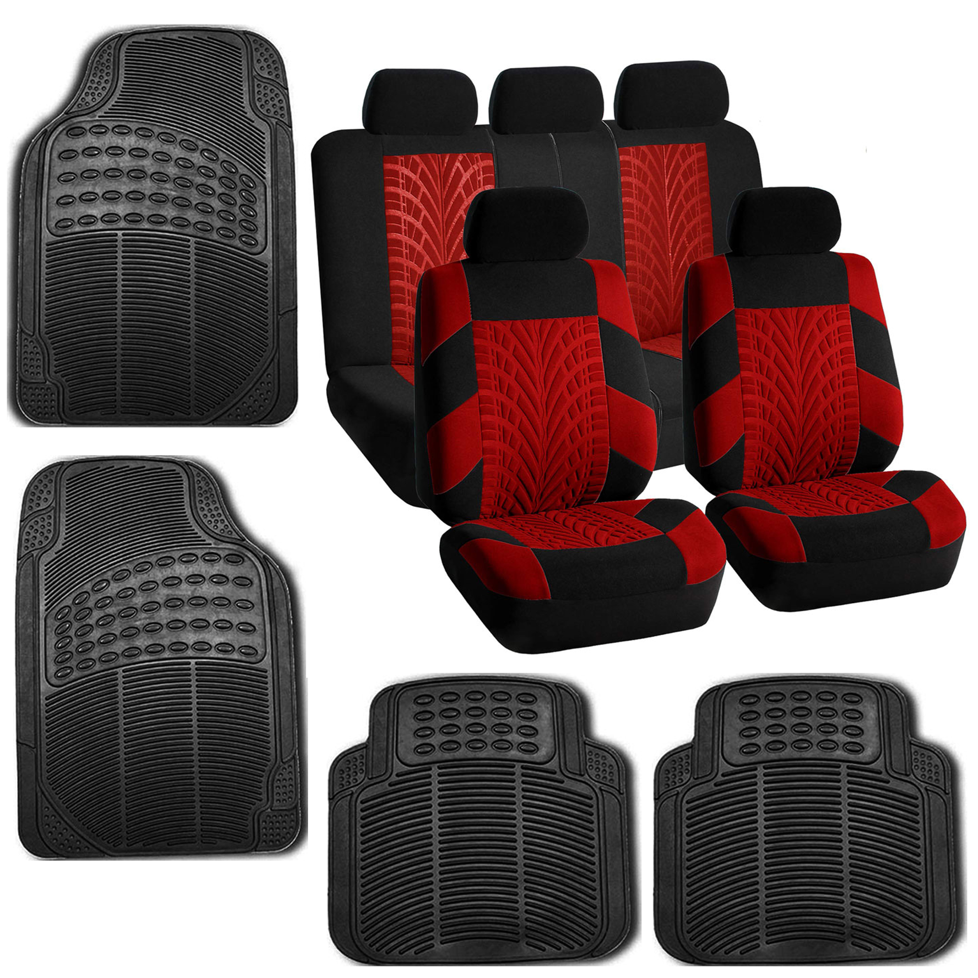 Car Seat Covers Best Full Set In Beige For Car SUV Rubber