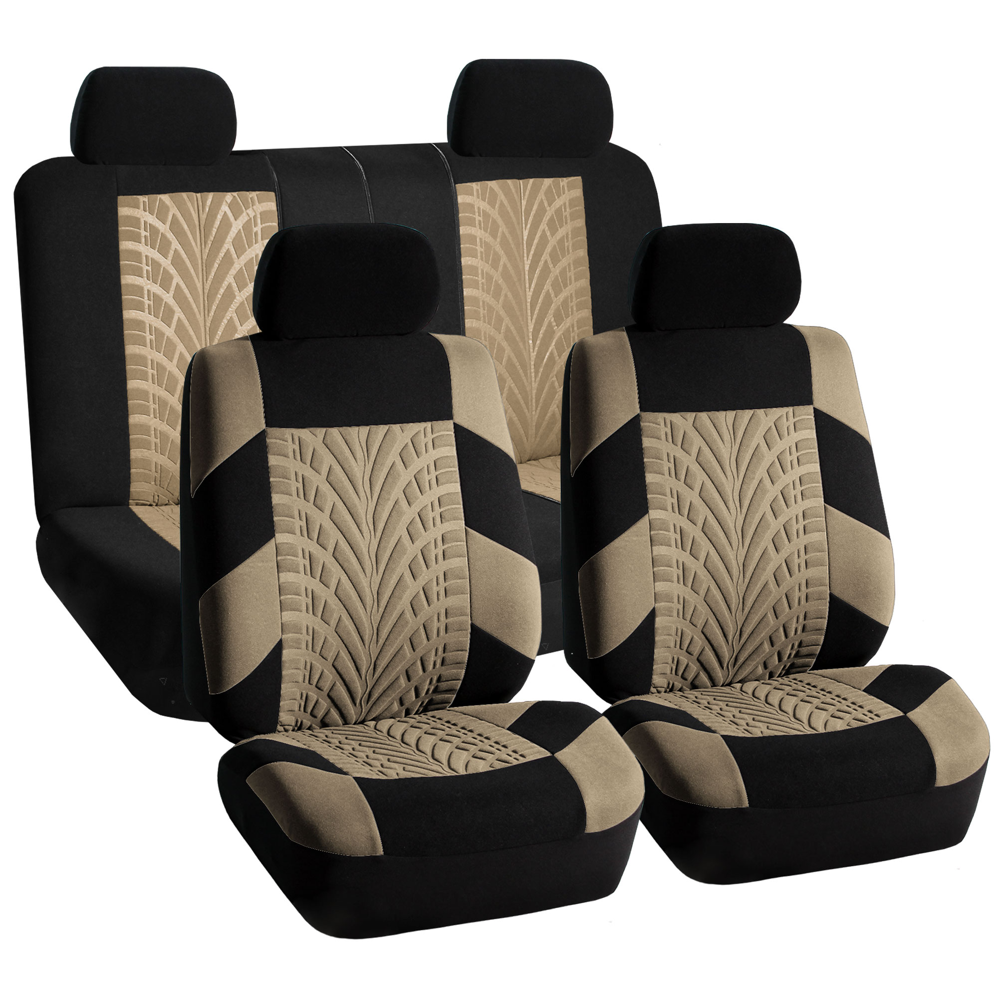 Car Seat Covers Complete Set Beige Top Quality For Car SUV