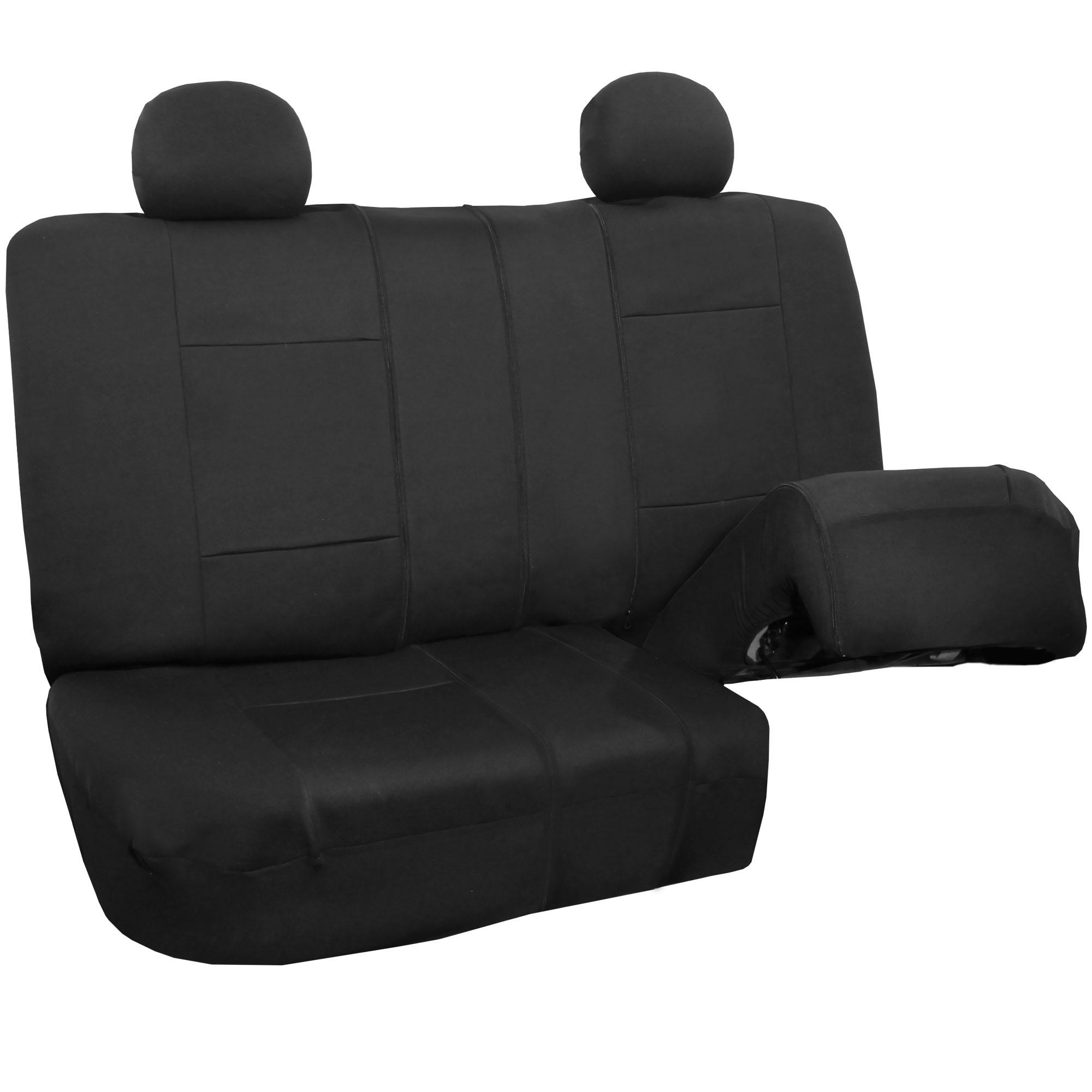 Car Seat Cover Neoprene Waterproof Pet Proof Full Set 4