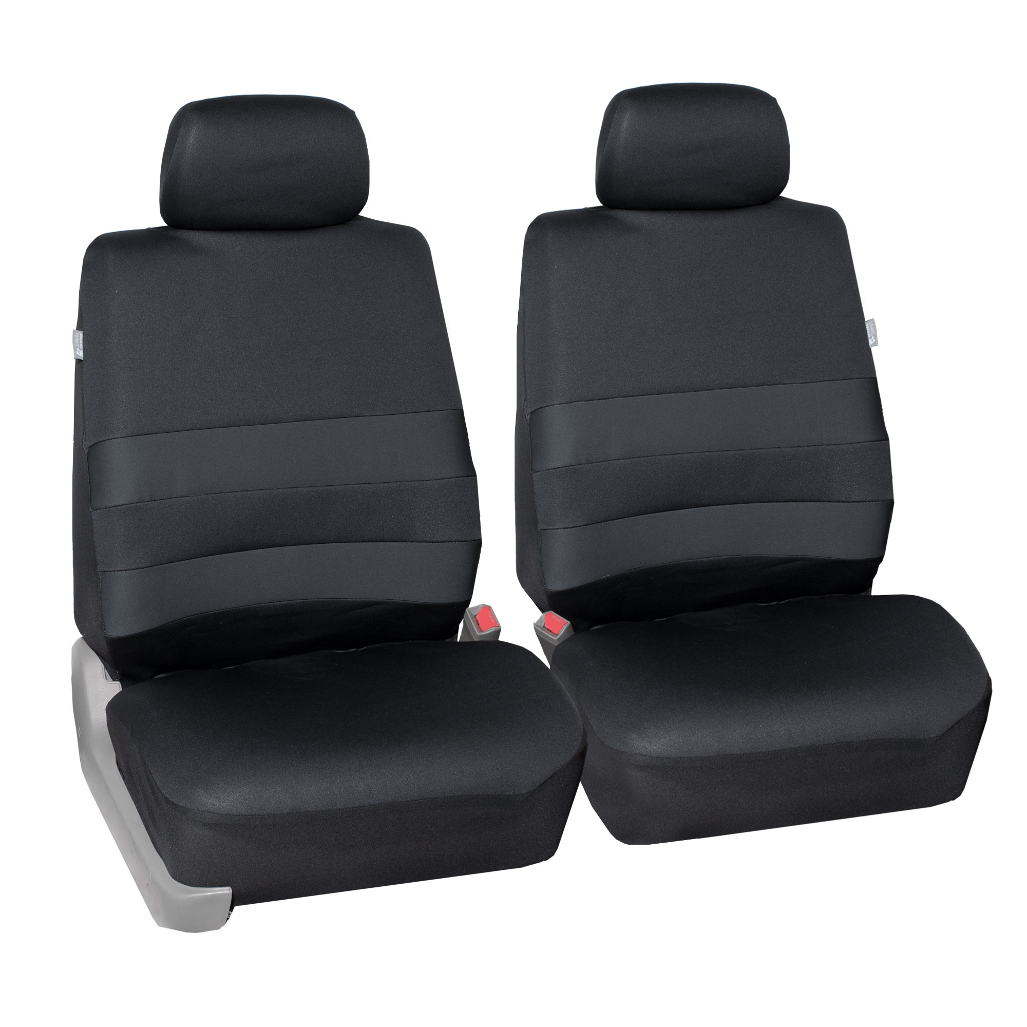 Neoprene Seat Covers Front Buckets For SUV Van Sedan Coupe