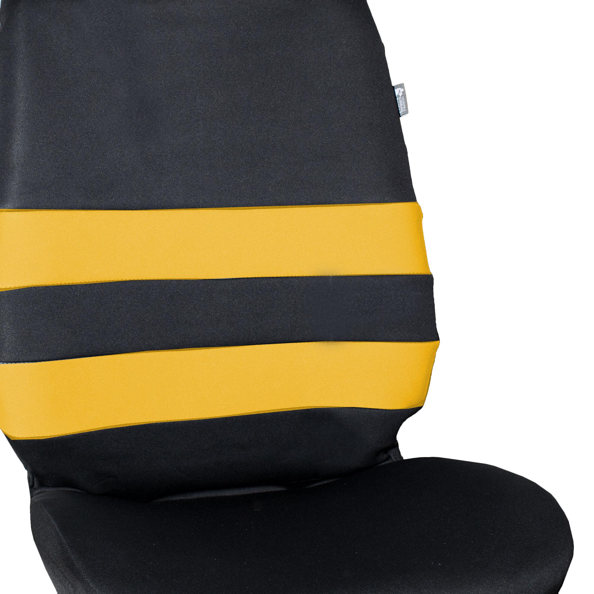 Neoprene Seat Covers Front Buckets For SUV Van Sedan Coupe
