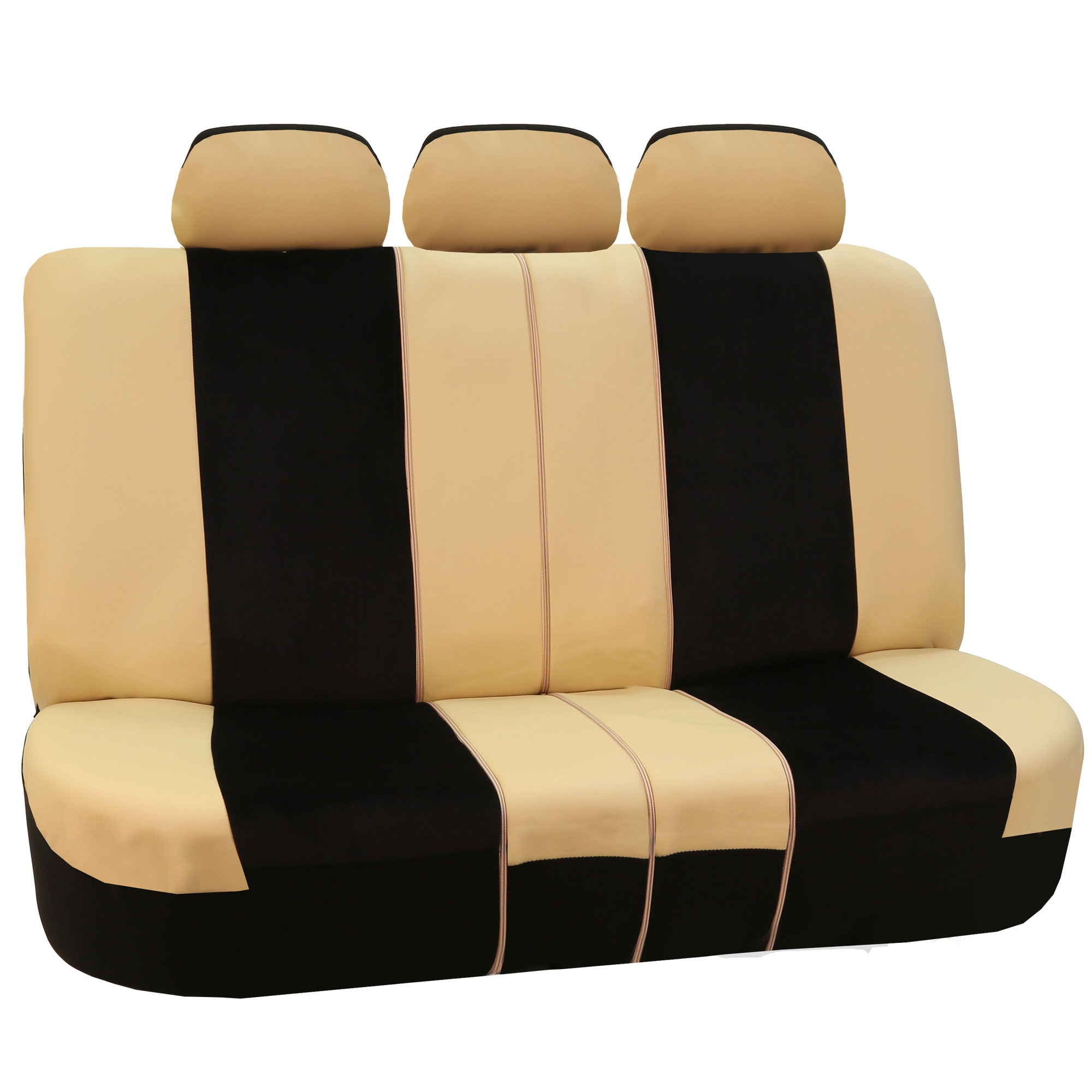 Leather Velour Car Seat Covers Sport Luxury Top