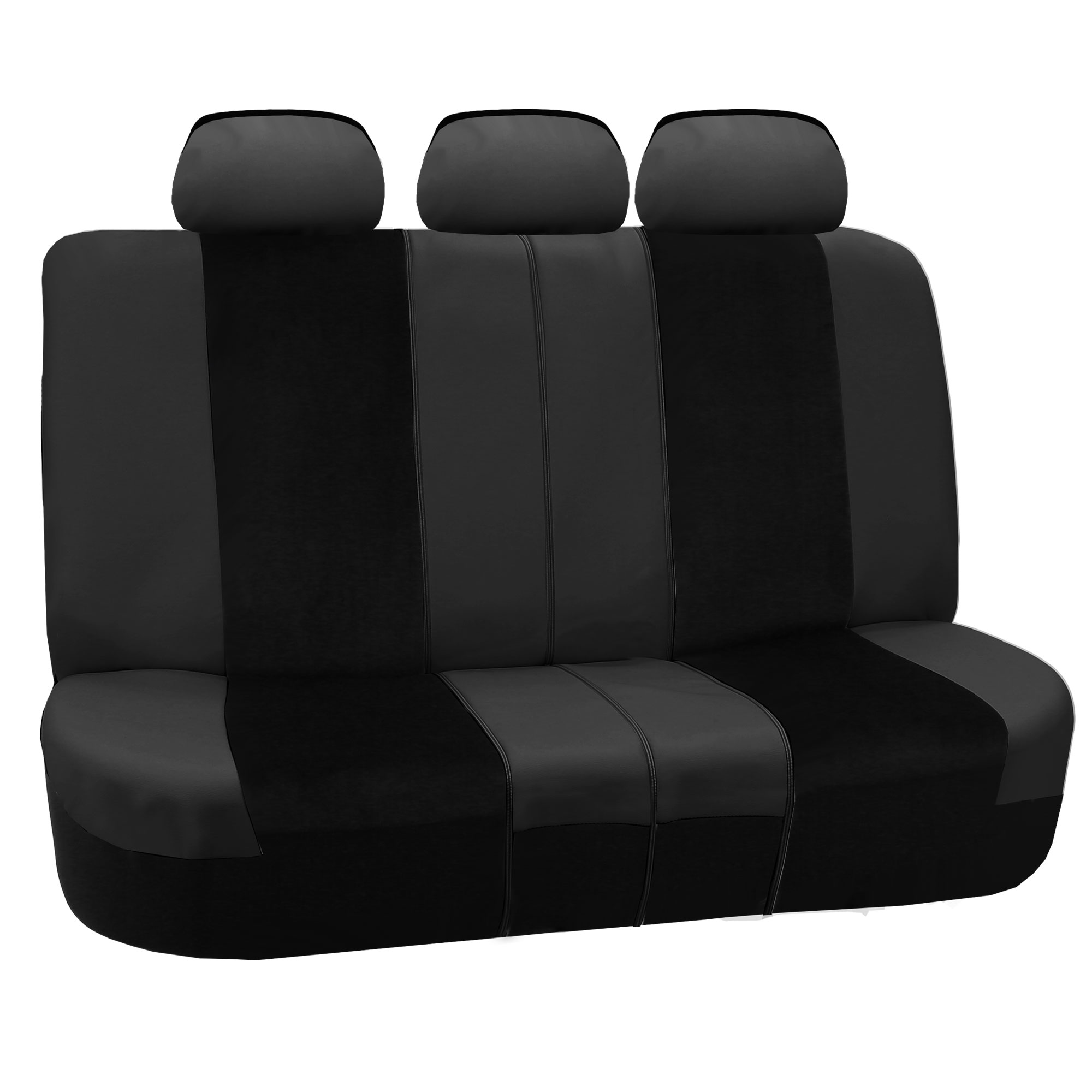 leather velour car seat covers luxury sports with floor mats ebay. Black Bedroom Furniture Sets. Home Design Ideas
