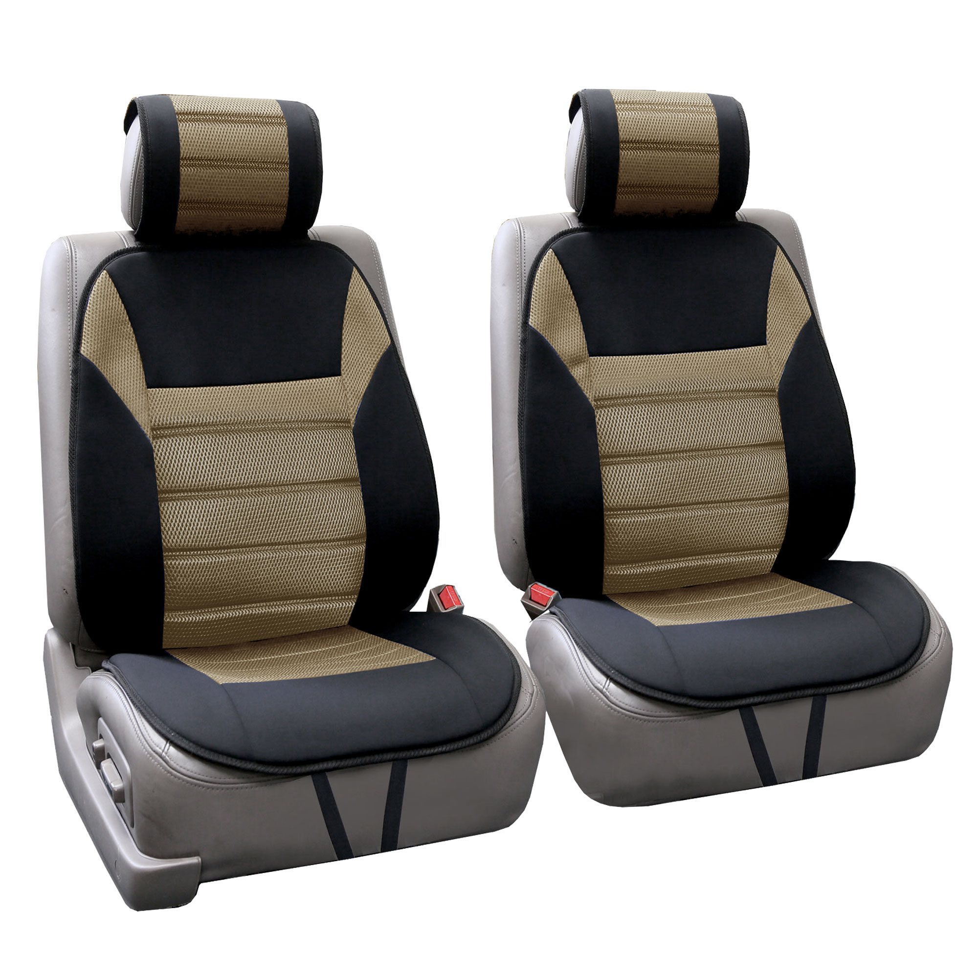 3 d air mesh design car seat cushion pads complete set ebay. Black Bedroom Furniture Sets. Home Design Ideas