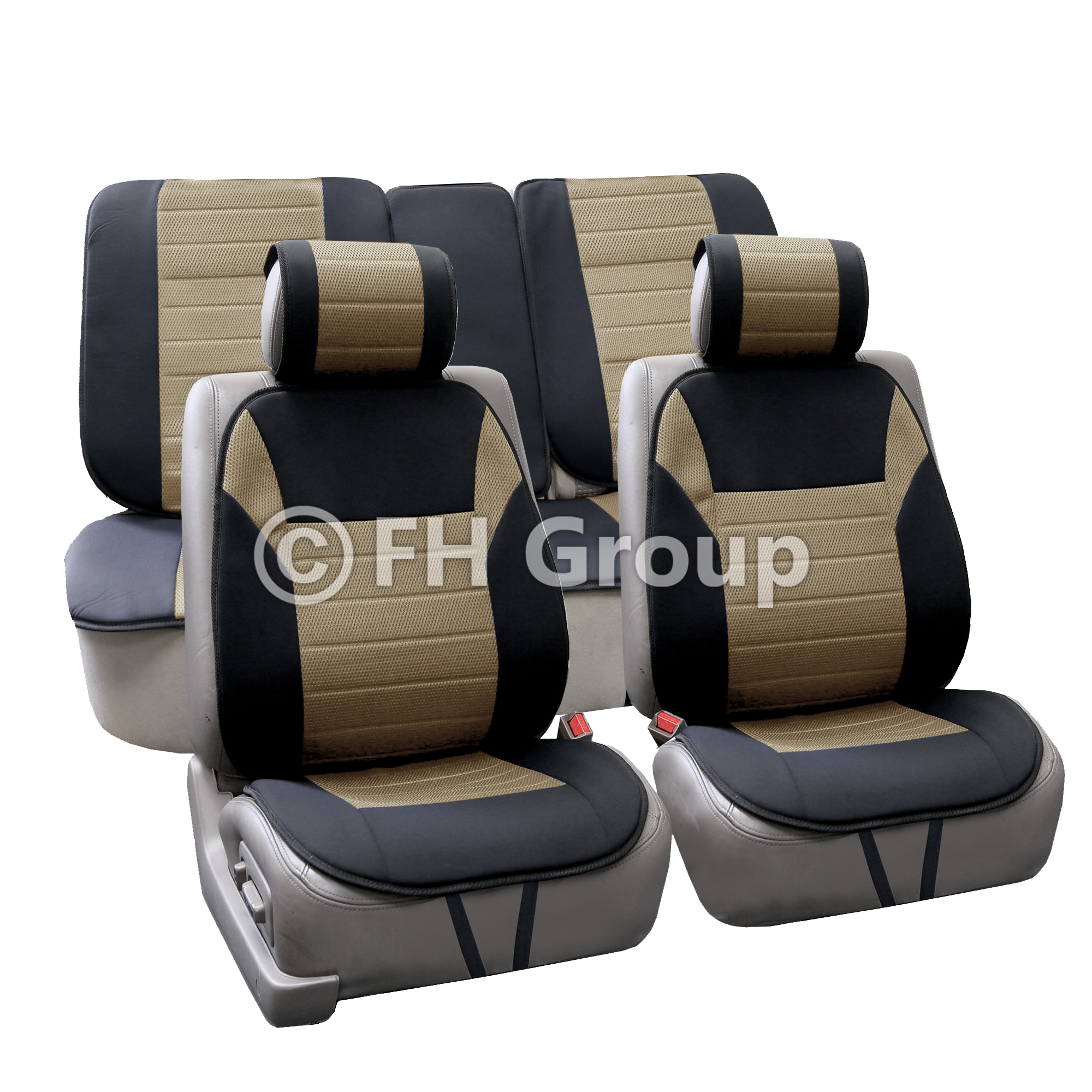 FH FB201112 High Quality Polyester Car Seat Cushion Pads
