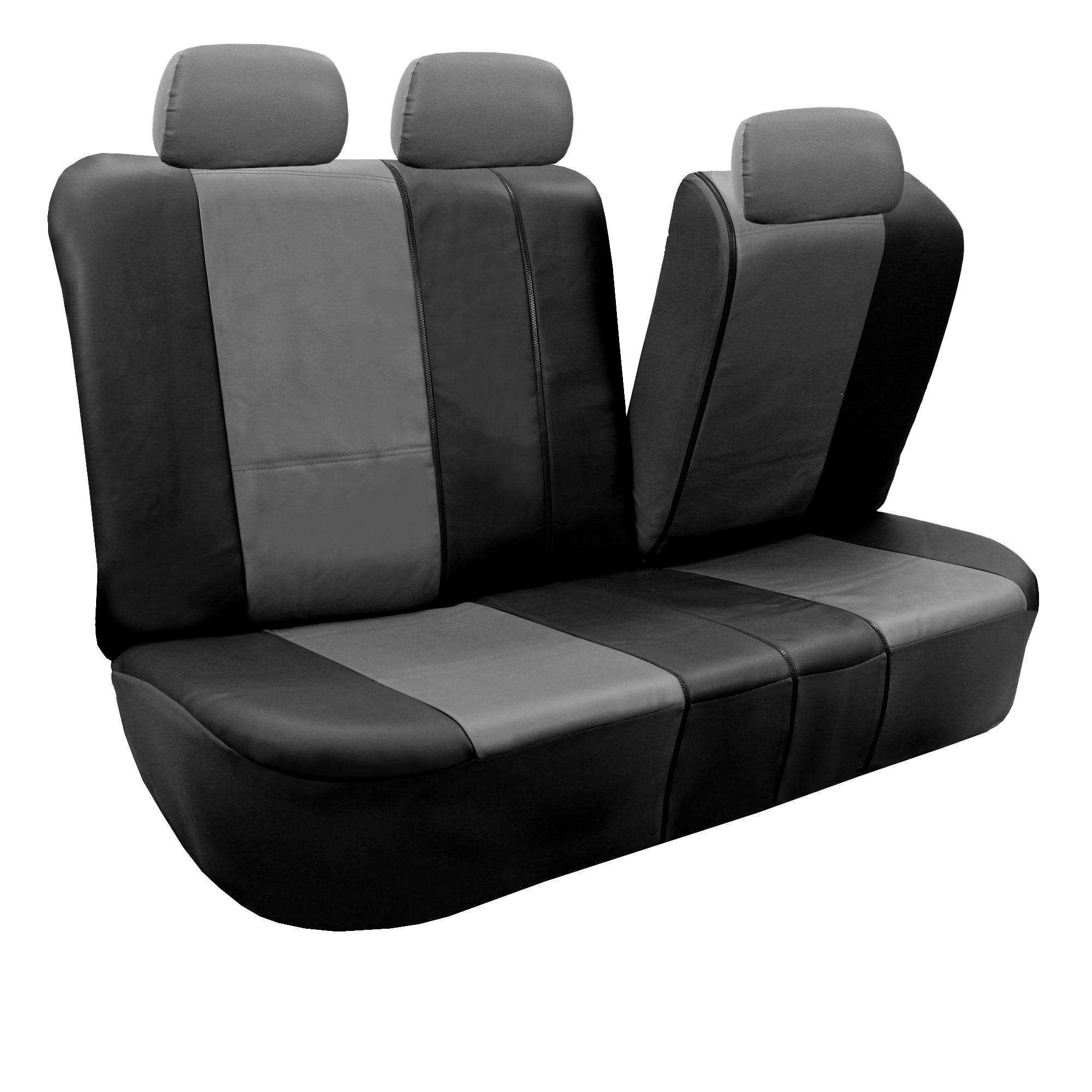 Built In Seat Belt Auto Seat Covers W Beige Floor Mats