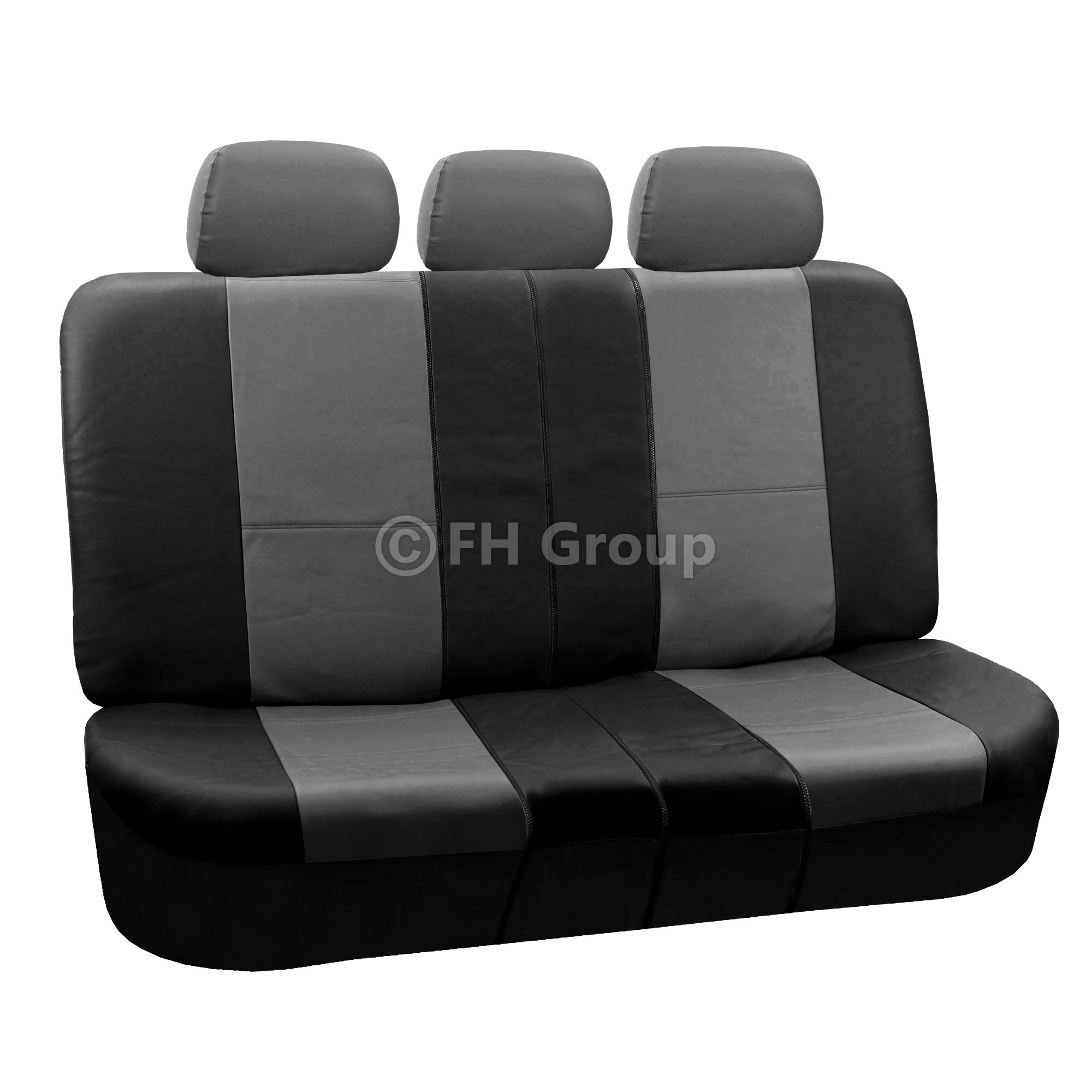 PU Leather Car Seat Covers W Carpet Floor