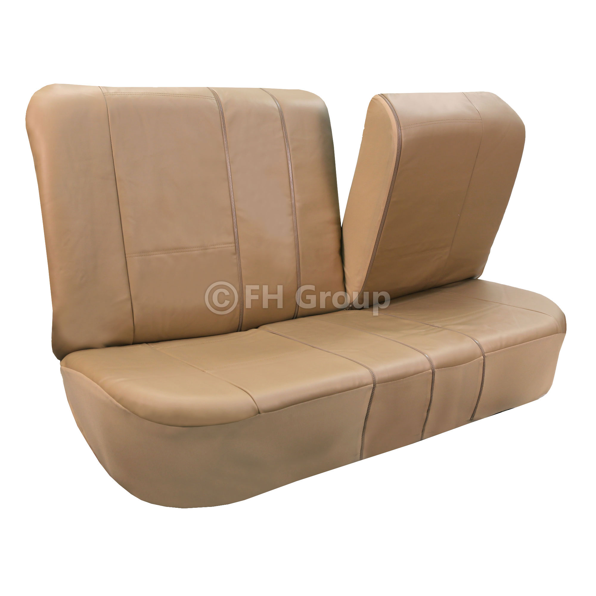 Very Impressive portraiture of  about PU Leather Car Seat Covers w. Carpet Floor Mats for Split Bench with #402F1C color and 2000x2000 pixels