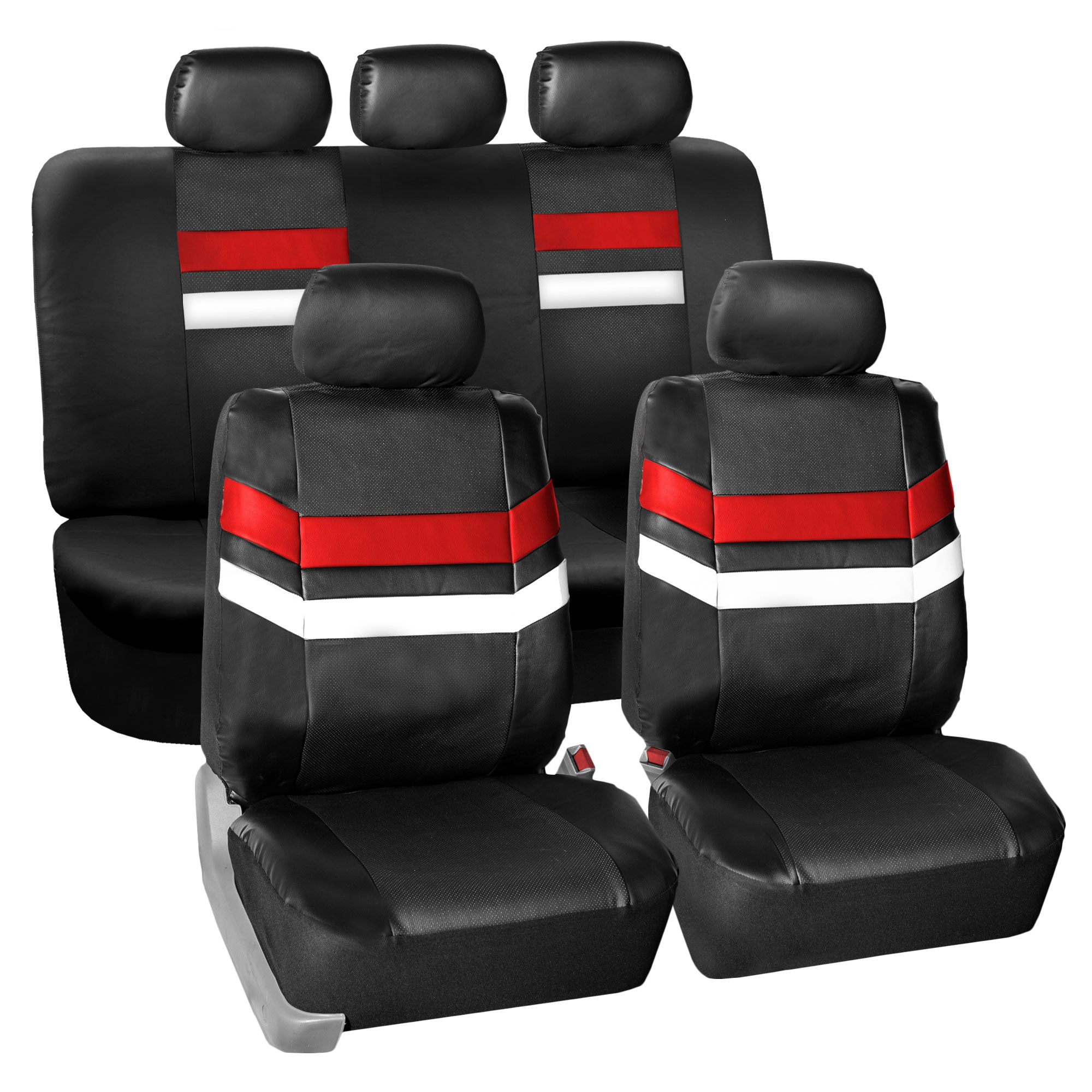 auto seat covers pu leather for car van suv truck top quality 11 colors. Black Bedroom Furniture Sets. Home Design Ideas