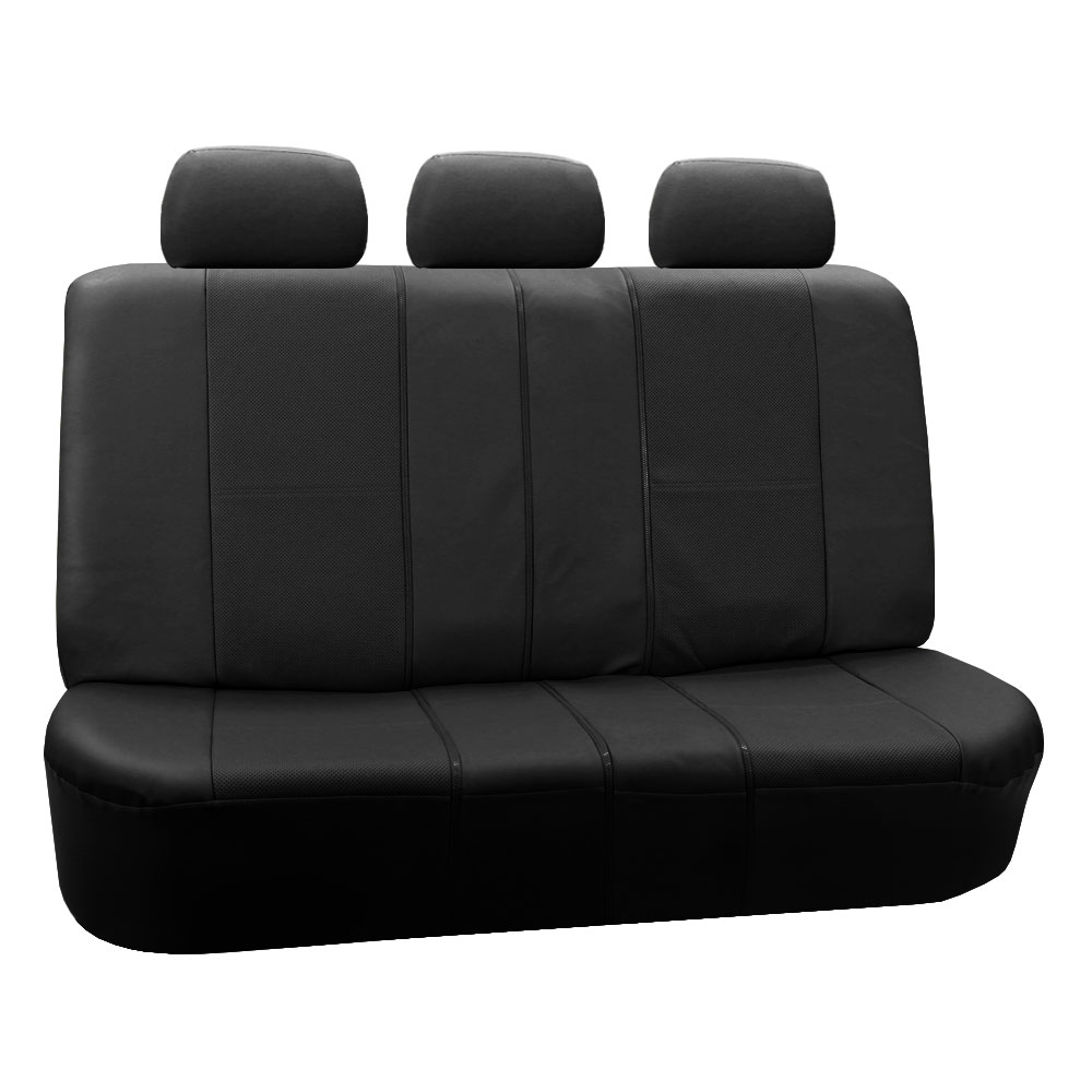 Split Bench Seat Covers ~ Deluxe leatherette split bench seat covers
