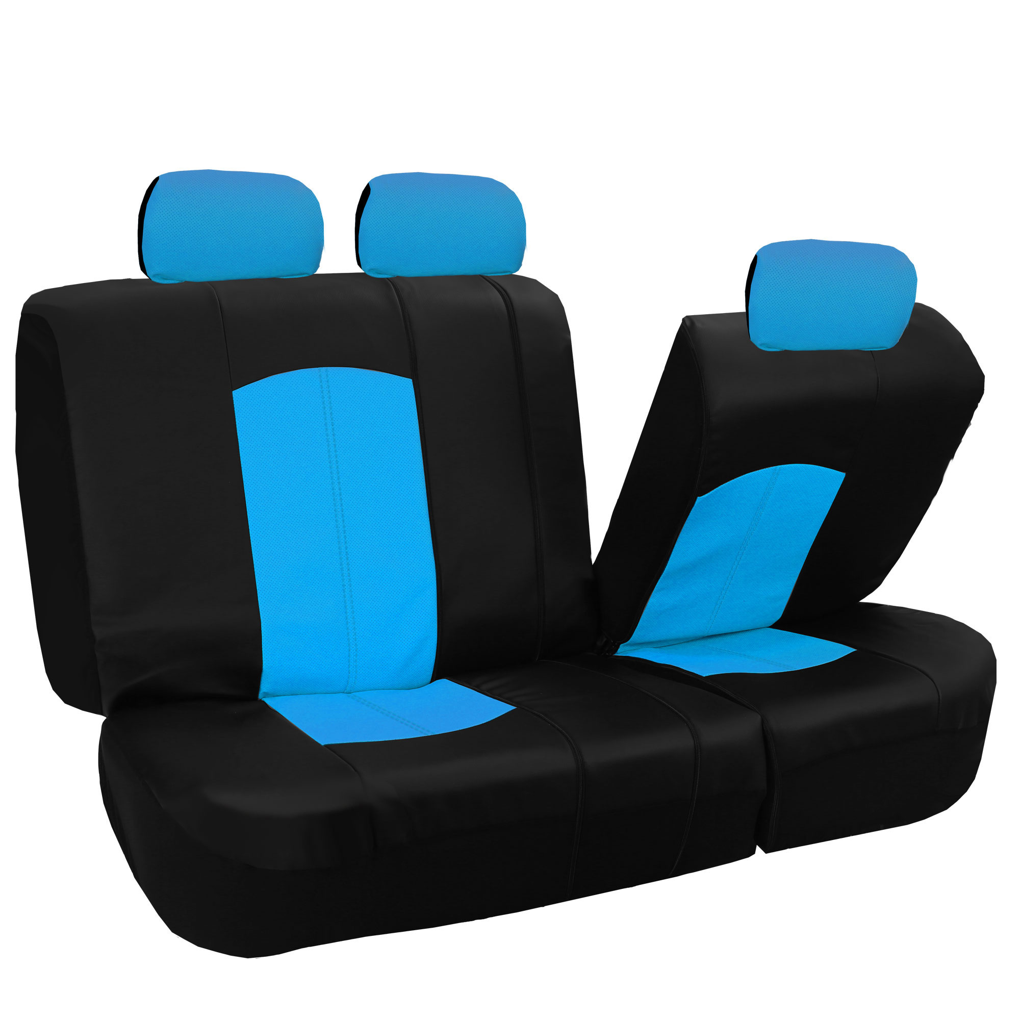 automotive car seat covers sideless blue. Black Bedroom Furniture Sets. Home Design Ideas