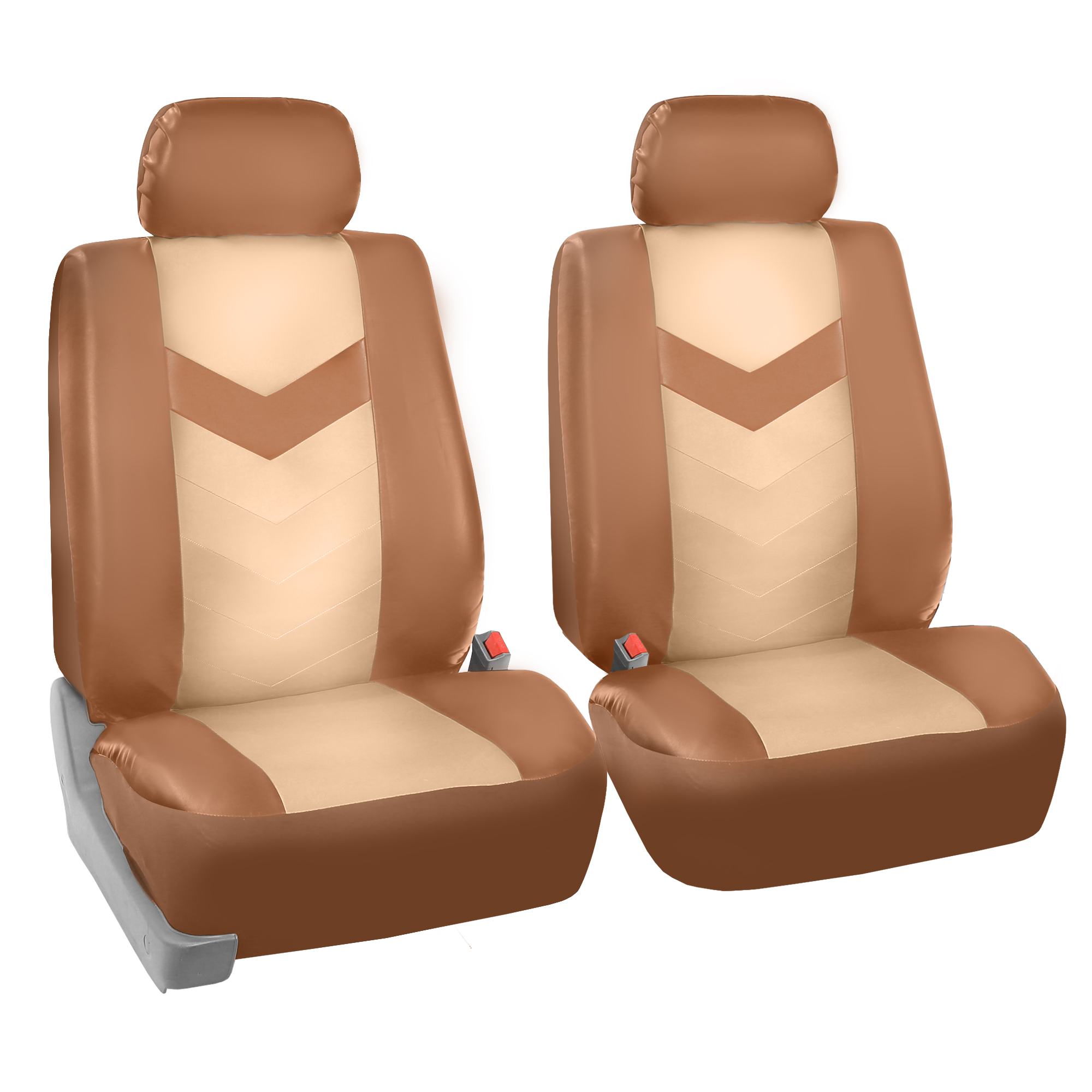 Free Gift Synthetic Leather Car Seat Covers for Auto with Accessories