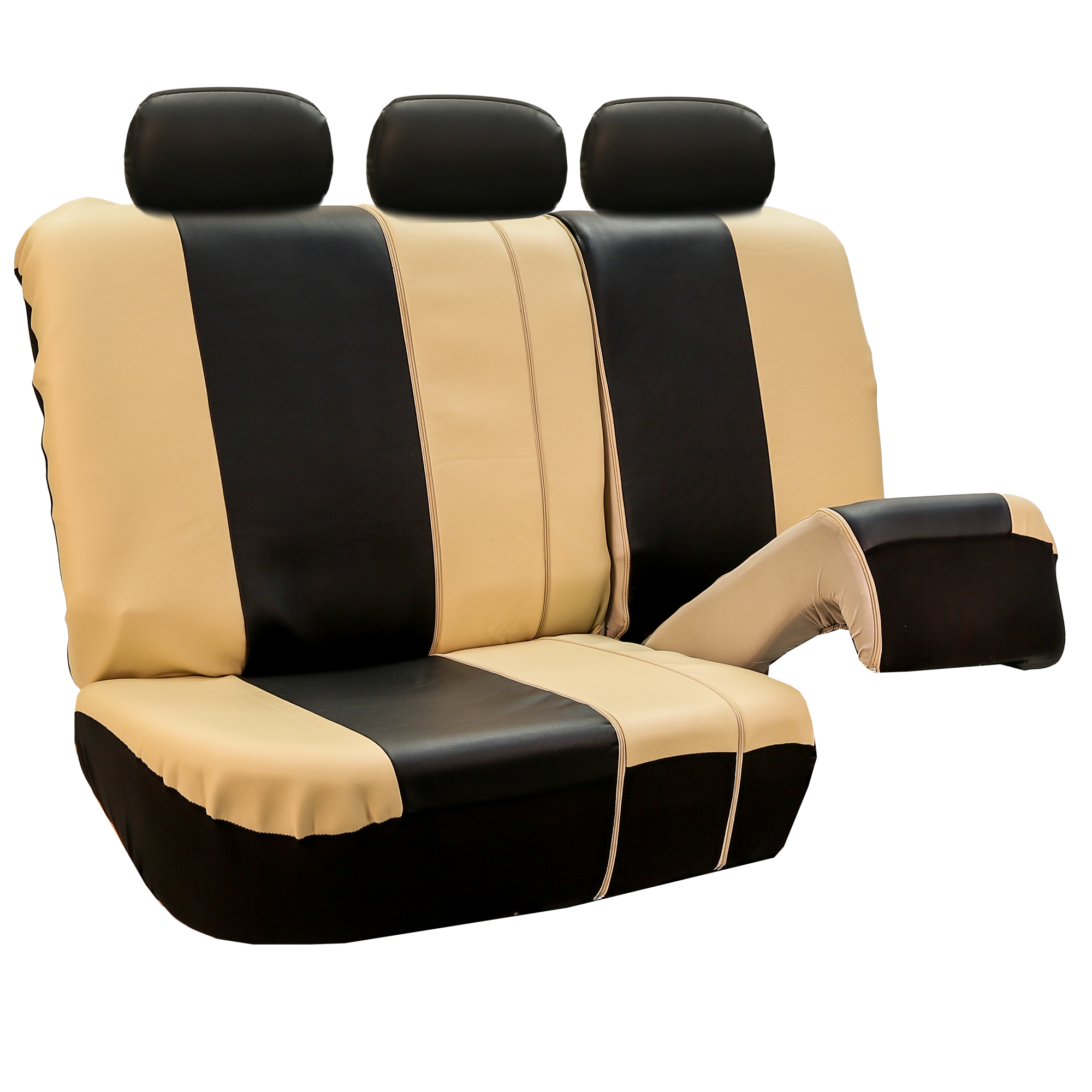 Premium Leatherette Split Bench Seat Covers