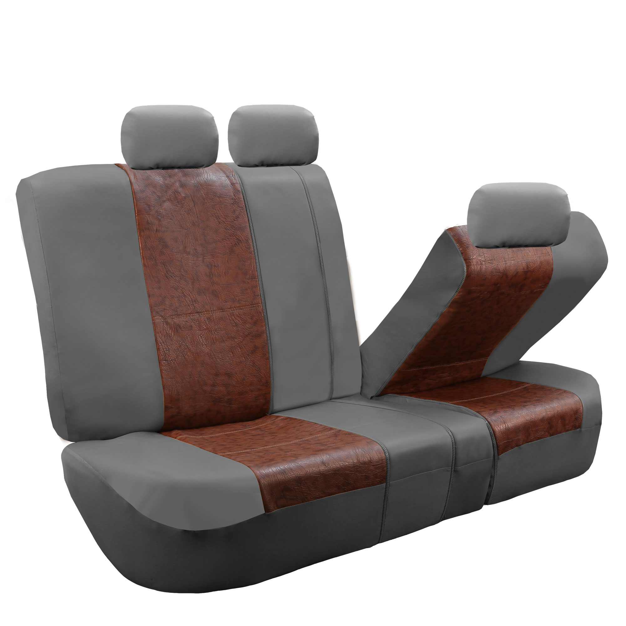 Split Bench Seat Covers ~ Textured pu leather split bench seat covers ebay