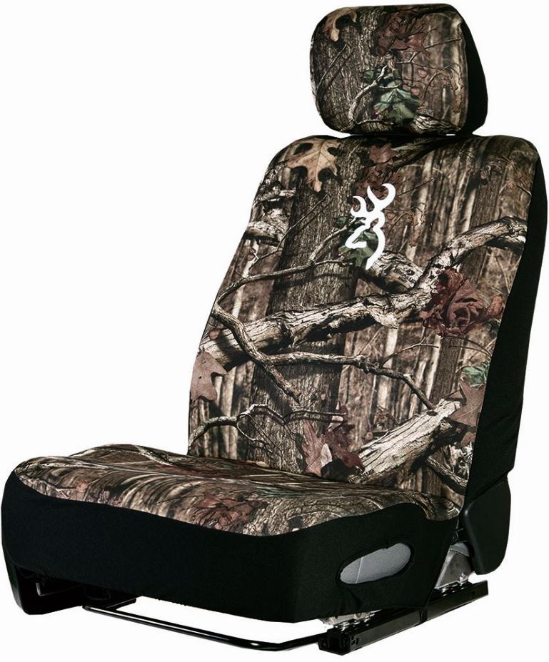 SPG Neoprene Mossy Oak Browning Realtree Seat Cover For