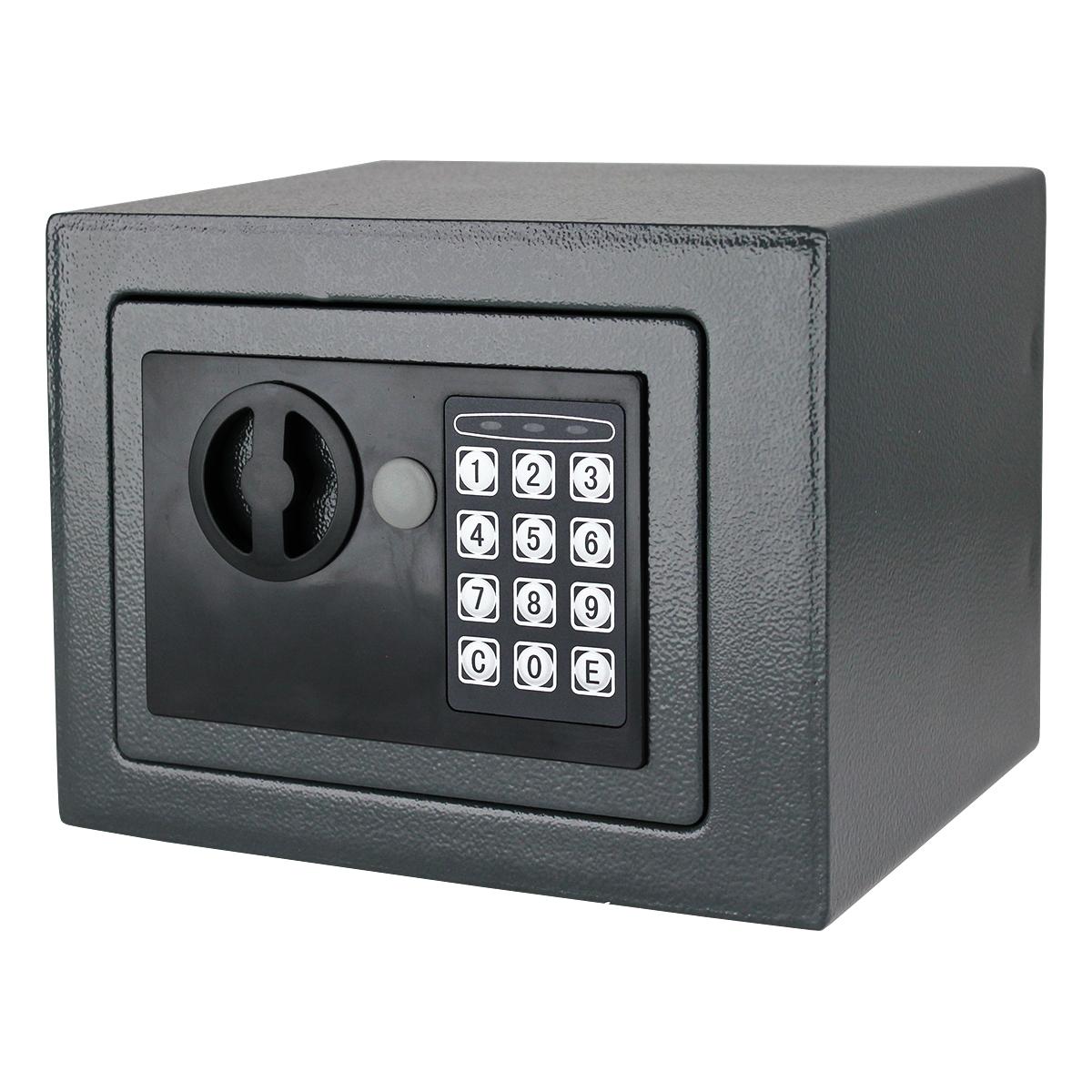 digital electronic small safe box keypad lock home wall cabinet office hotel gun ebay. Black Bedroom Furniture Sets. Home Design Ideas