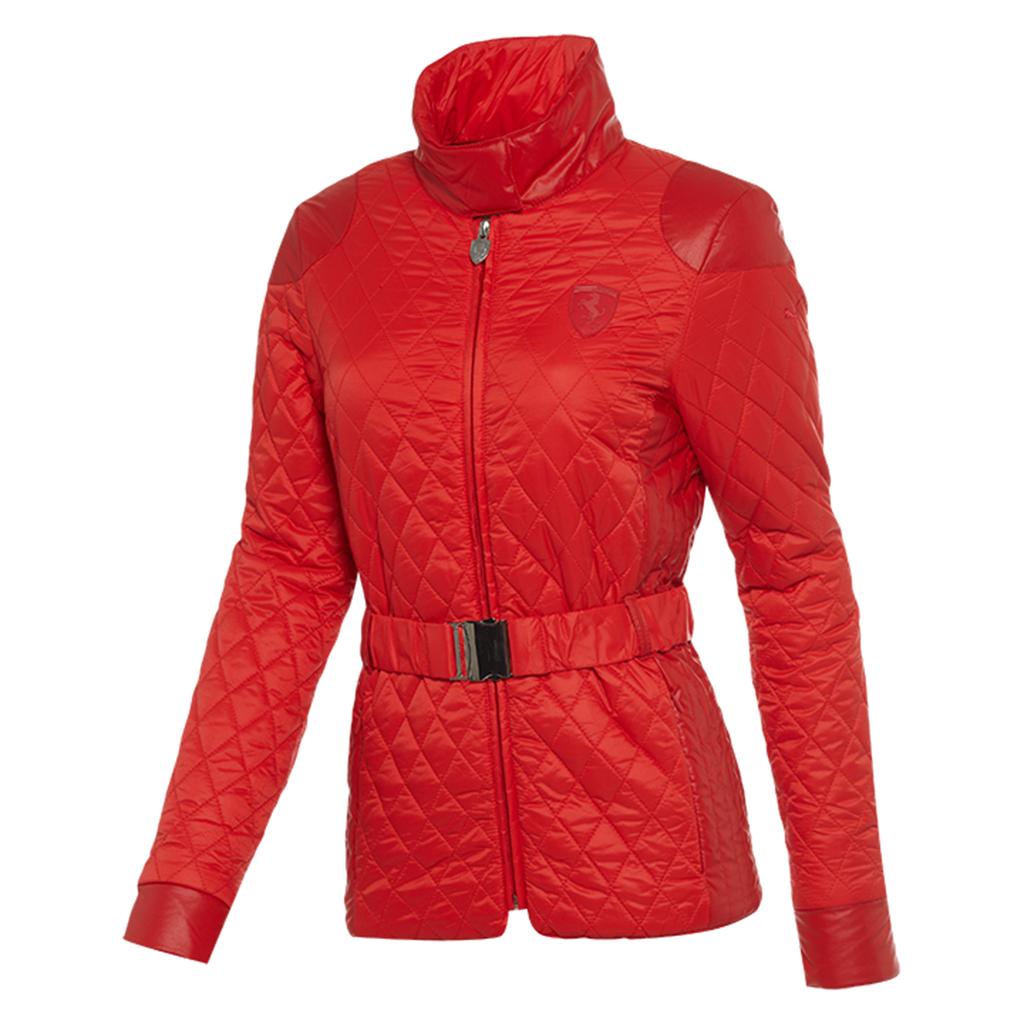 puma ferrari women 39 s sf padded jacket ebay. Black Bedroom Furniture Sets. Home Design Ideas