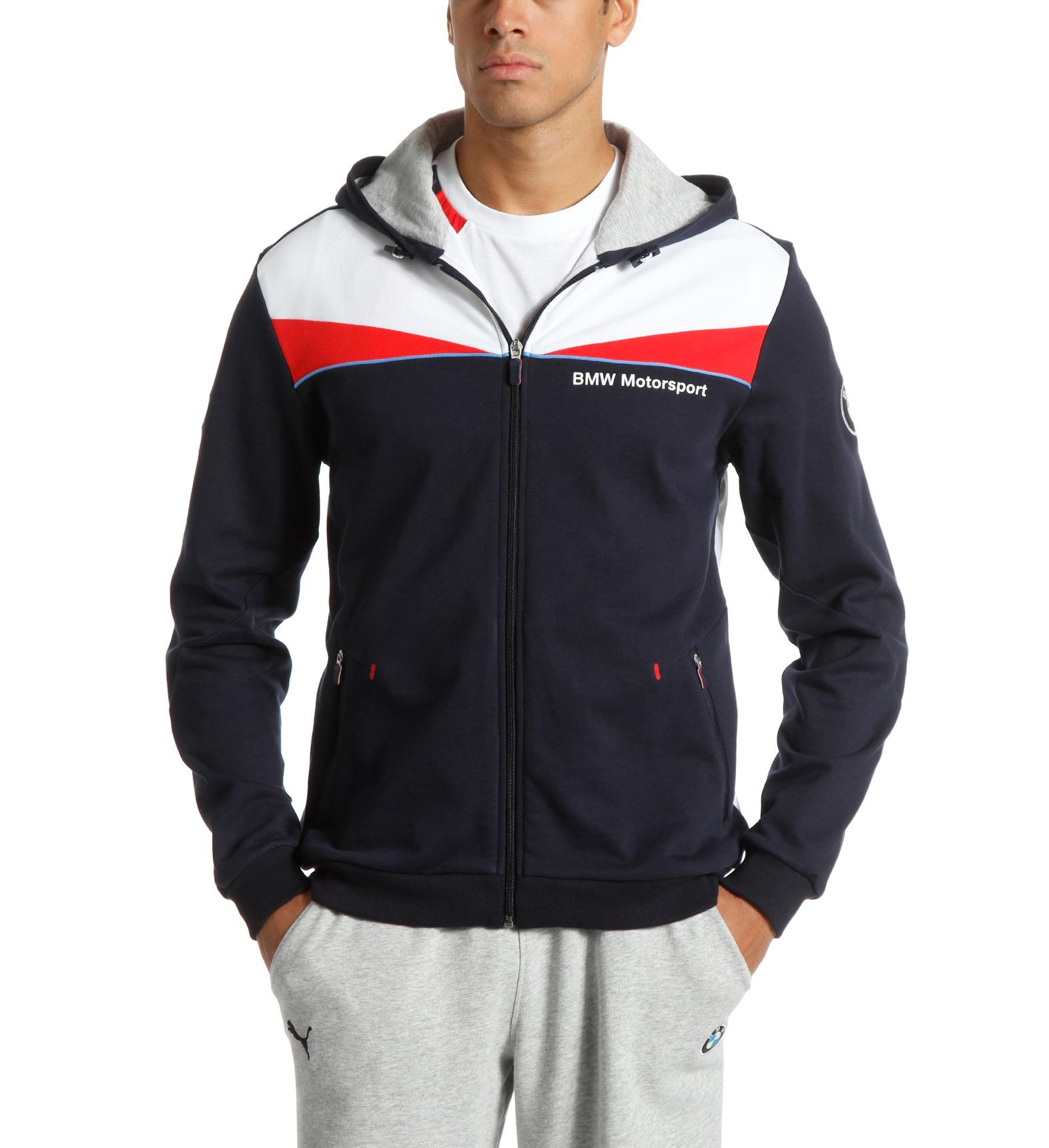 Puma Bmw Men S Zip Up Hoodie Ebay