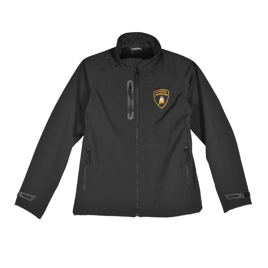 Lamborghini Men S Racing Team Softshell Zip Up Jacket