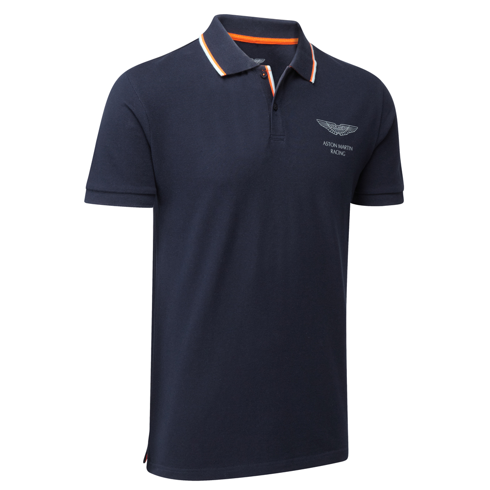aston martin racing travel polo shirt ebay. Black Bedroom Furniture Sets. Home Design Ideas