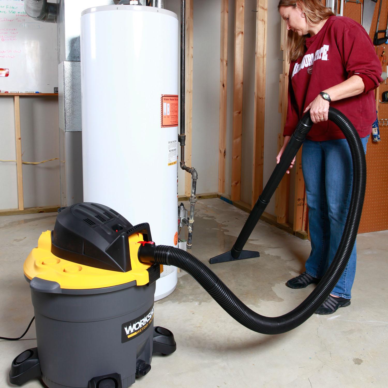 WORKSHOP Wet Dry Vacs WS1600VA Heavy Duty Shop Vacuum 16