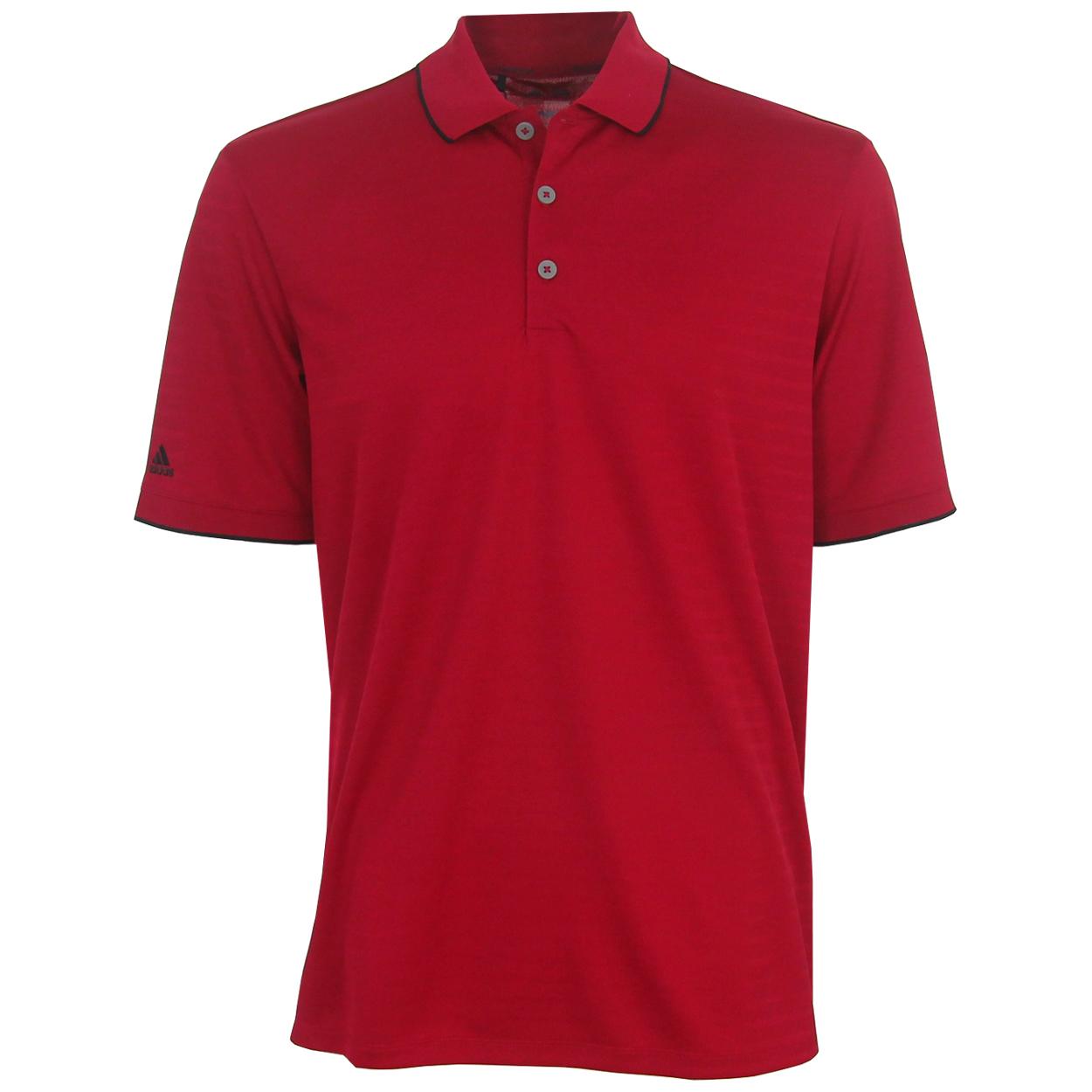 Adidas Golf Men 39 S Climacool Tipped Club Polo Shirt Brand New