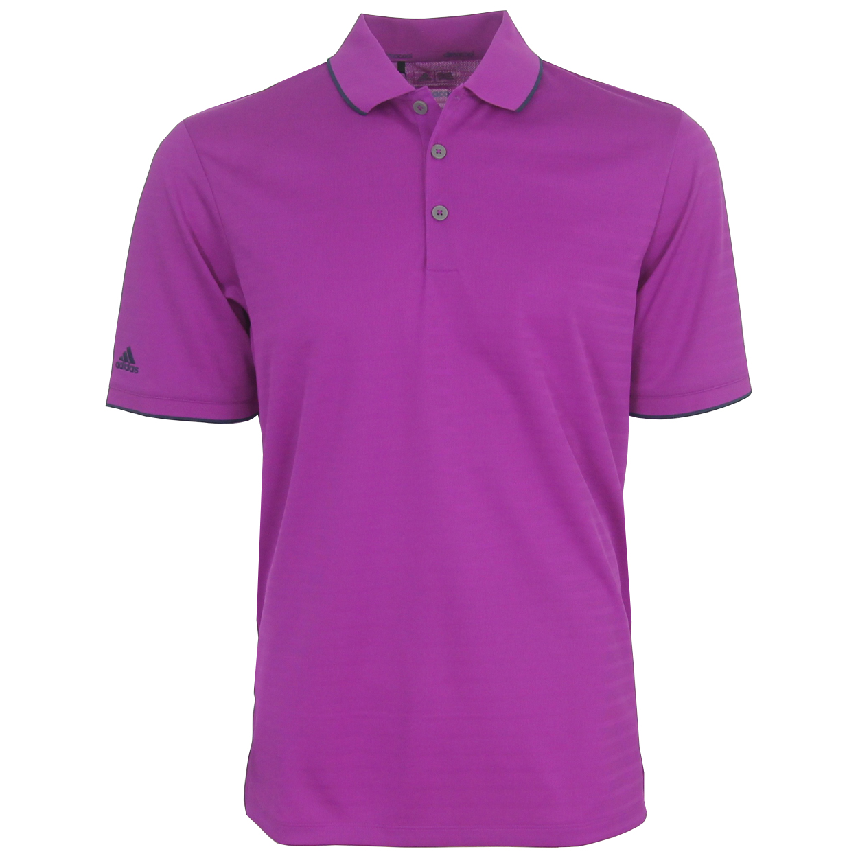 Adidas golf men 39 s climacool tipped club polo shirt brand new for Polo brand polo shirts