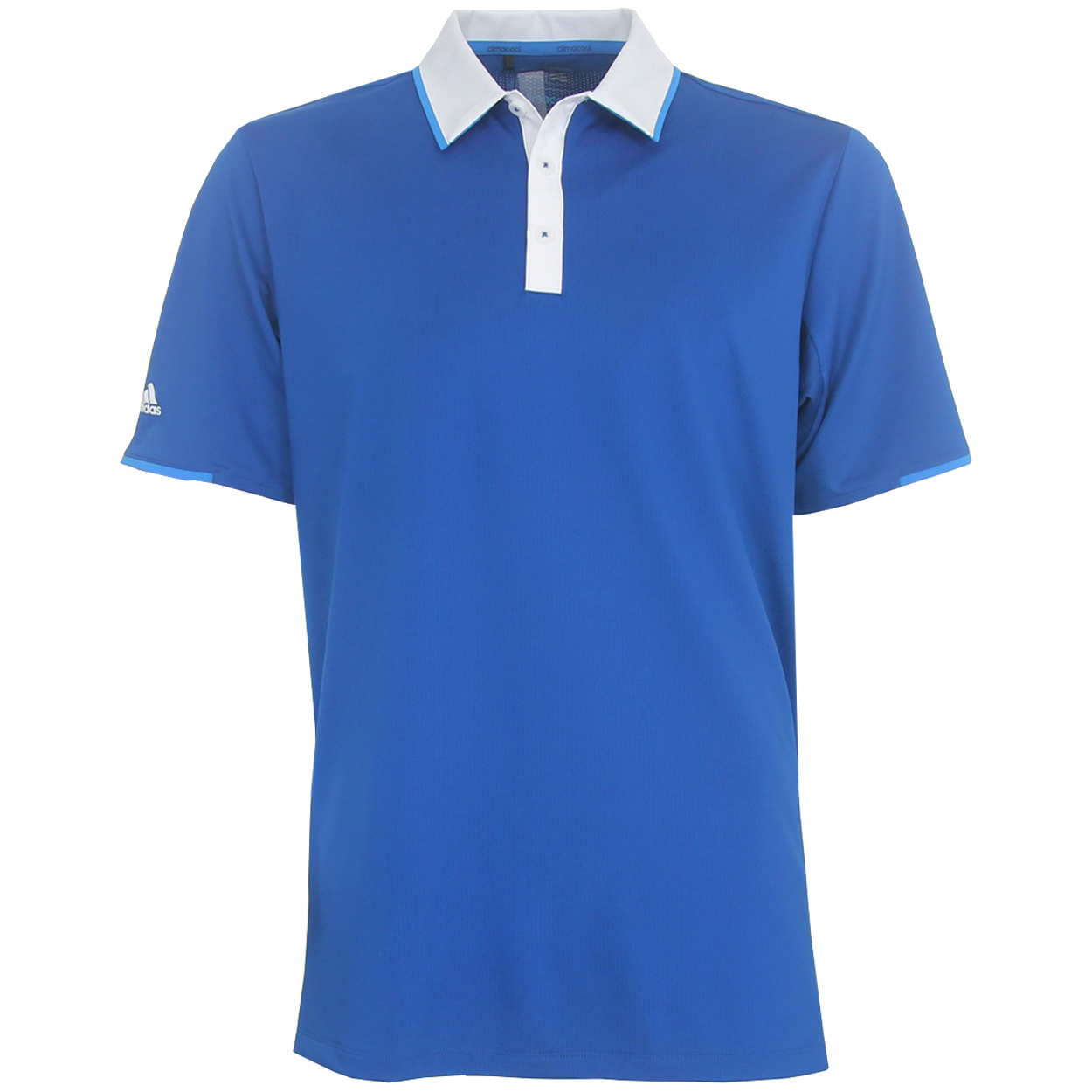 Adidas golf men 39 s climacool tipped polo shirt brand new for All polo shirt brands