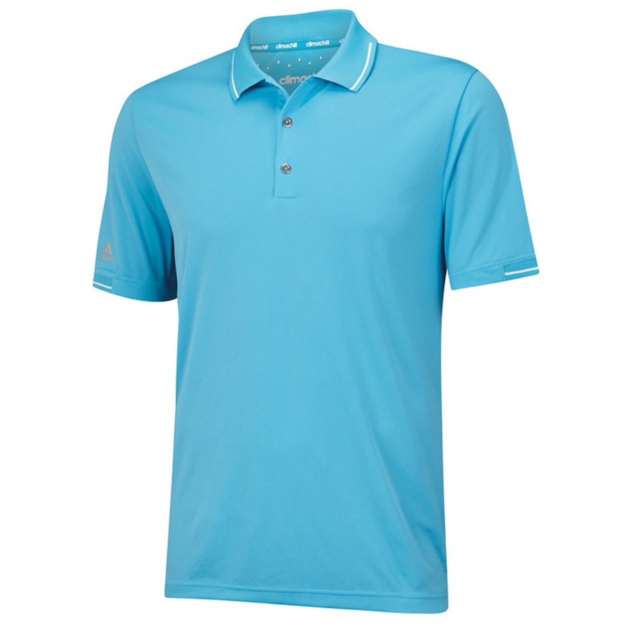 Adidas Golf Men 39 S Climachill Solid Polo Shirt Brand New