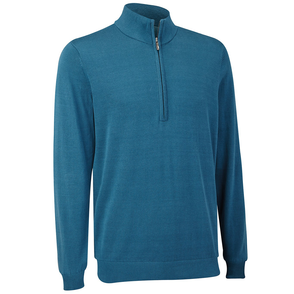 The Ashworth Golf Mens Pima Half-Zip Sweater is for those who want to look good while staying active. Made with the most advanced Ashworth fabrics and featuring athletic styling~ this pullover will be the talk of the club. Ashworth has been making stylish~ comfortable and performance oriented garmen