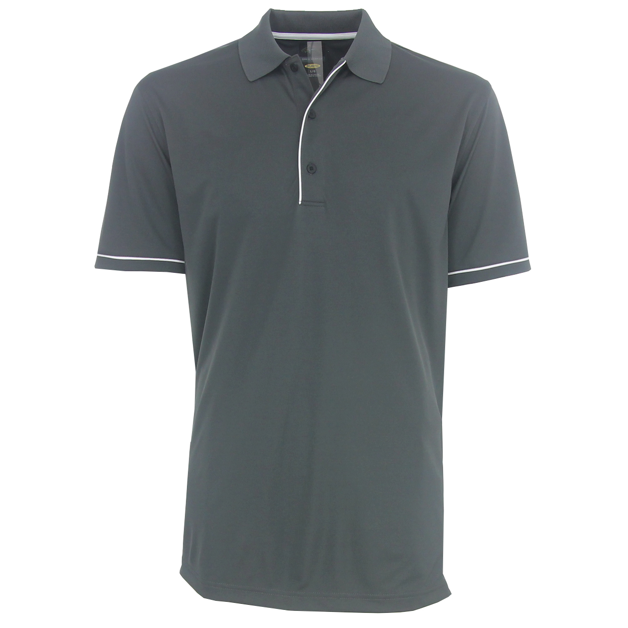 Greg norman men 39 s protek micro luxe solid polo golf shirt for Name brand golf shirts