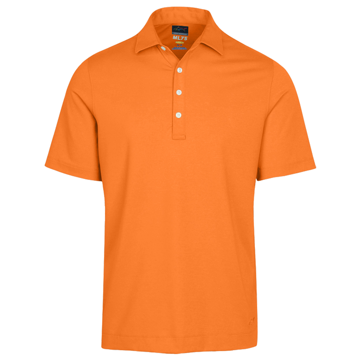 Greg norman men 39 s tech performance heathered polo golf for All polo shirt brands