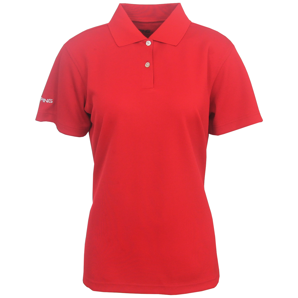 Ping golf women 39 s ace performance polo shirt brand new ebay for Polo brand polo shirts