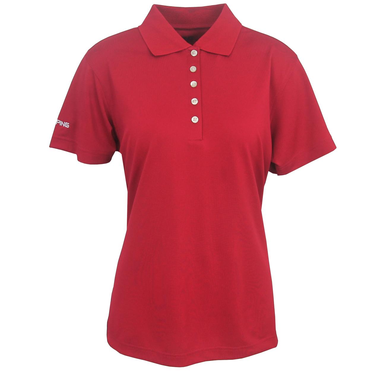 Ping women 39 s albatross performance polo golf shirt brand new for Polo brand polo shirts