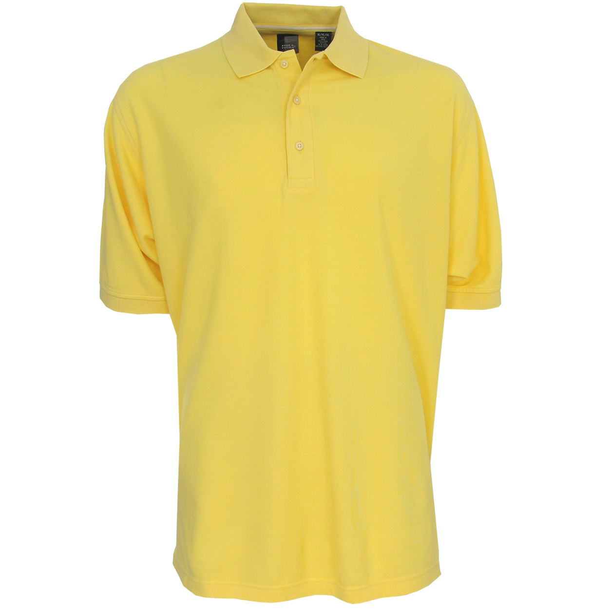 Page tuttle men 39 s pima cotton solid polo golf shirt for Mens cotton polo shirts