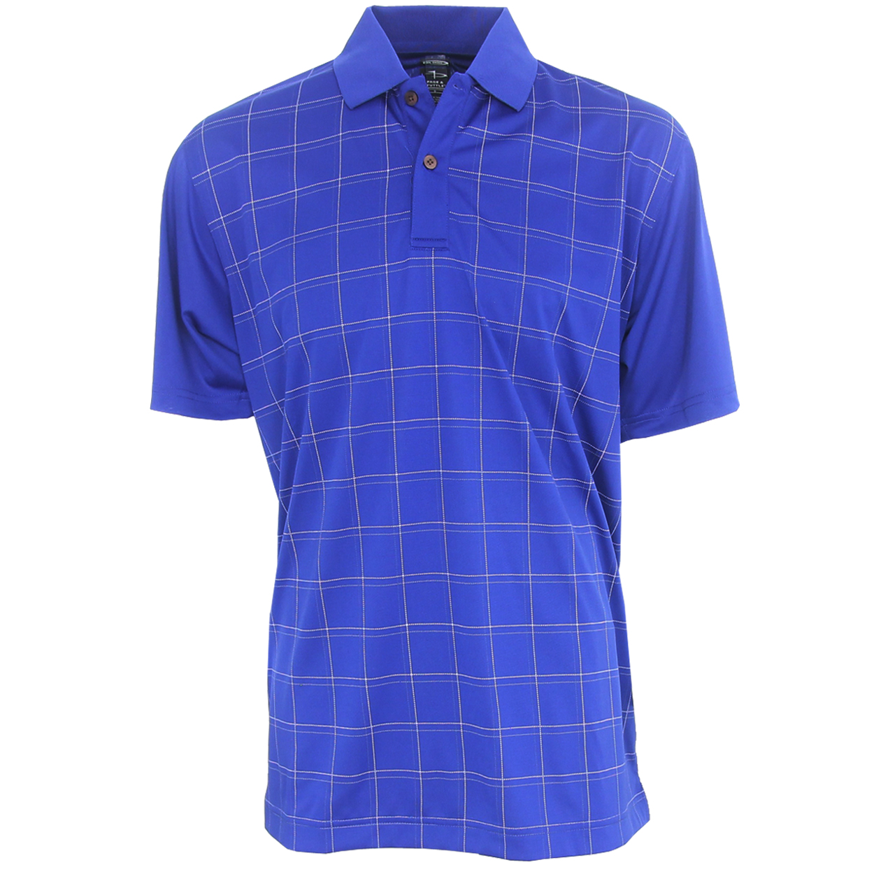 Page Tuttle Cool Swing Grid Pattern Men 39 S Polo Golf Shirt