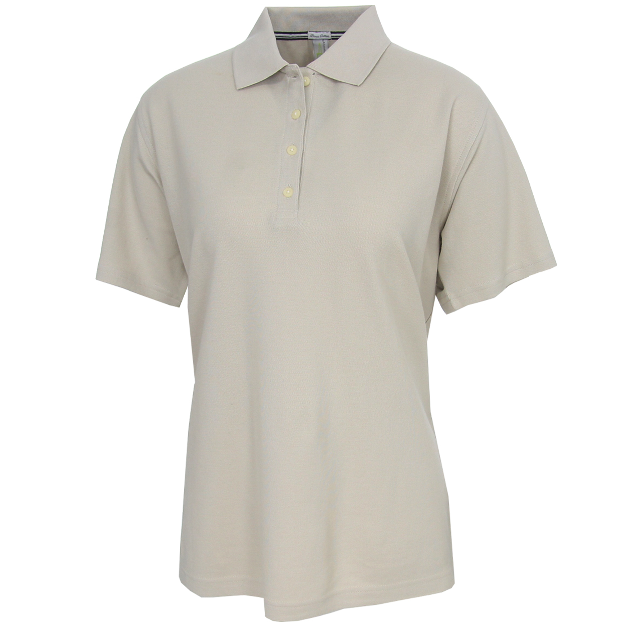 Page Tuttle Women 39 S Pima Cotton Solid Polo Golf Shirt Ebay