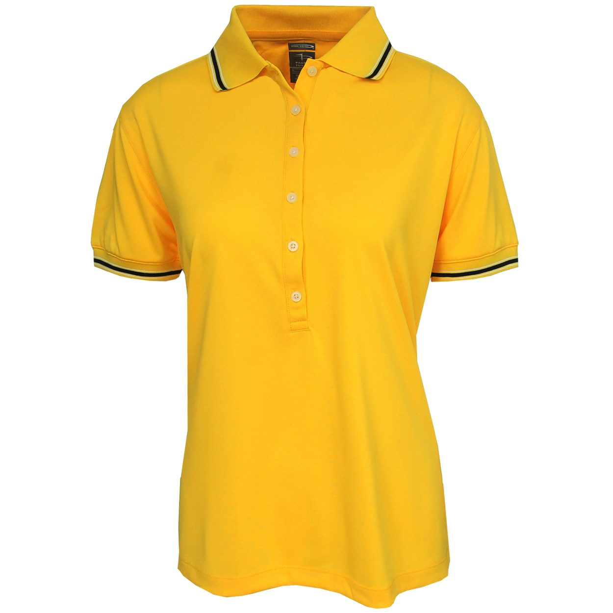Page Tuttle Women 39 S Solid Cool Swing Polo Golf Shirt