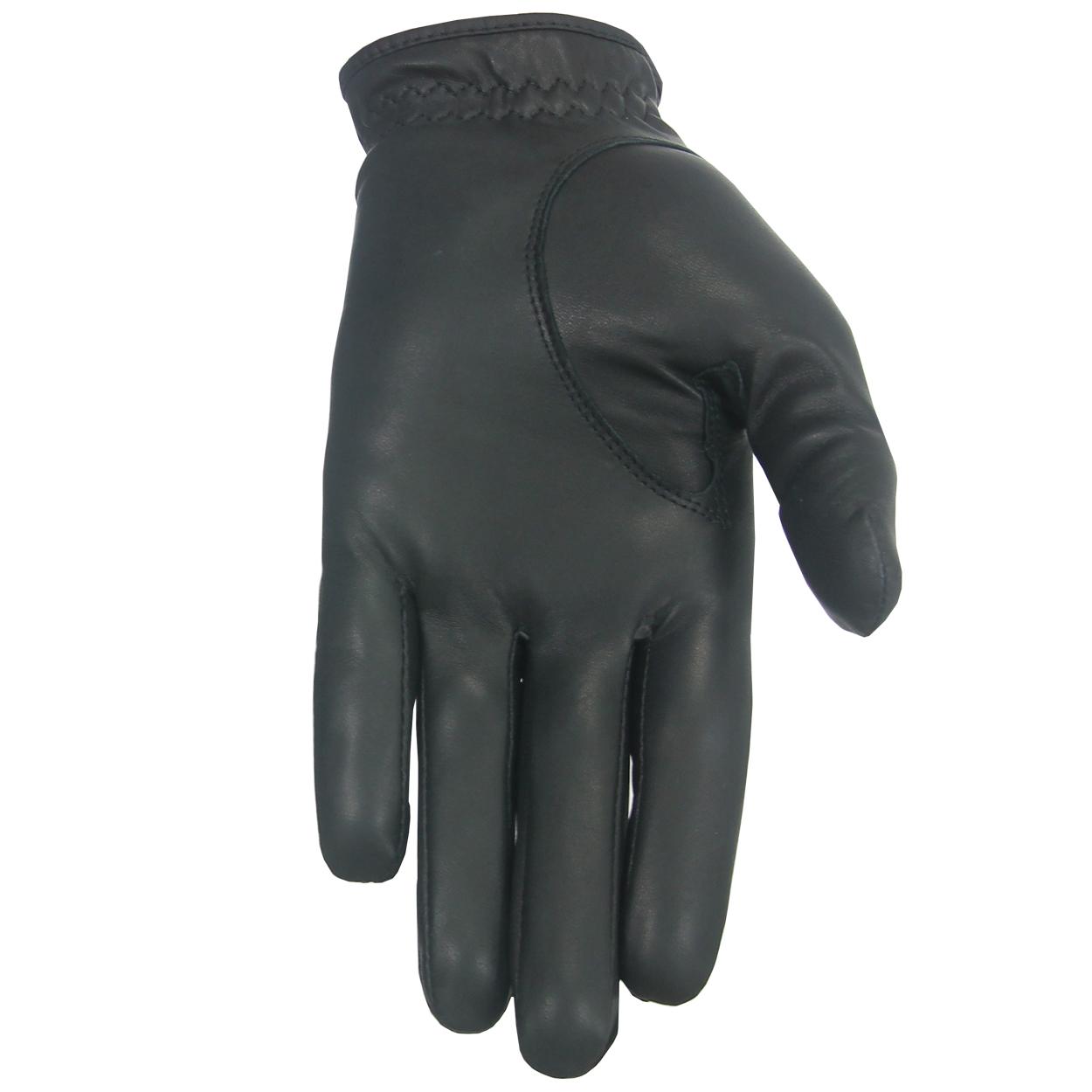 Black leather golf gloves - Puma Pro Performance Tour Leather Golf Gloves 3