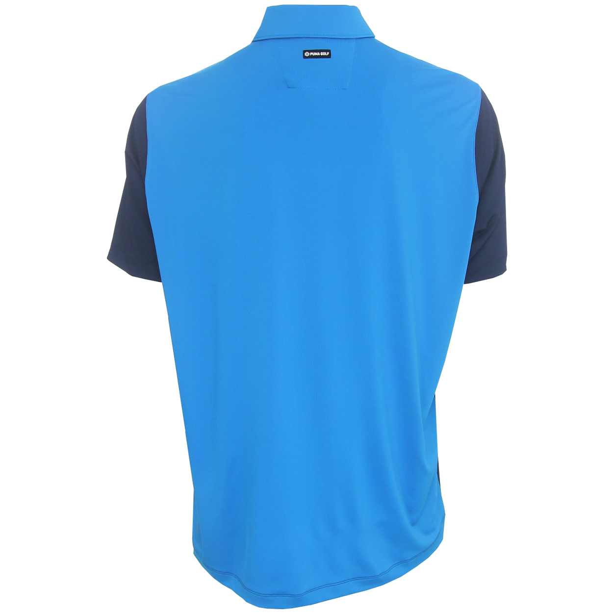 Puma golf men 39 s blocked polo shirt brand new ebay for Mens puma golf shirts