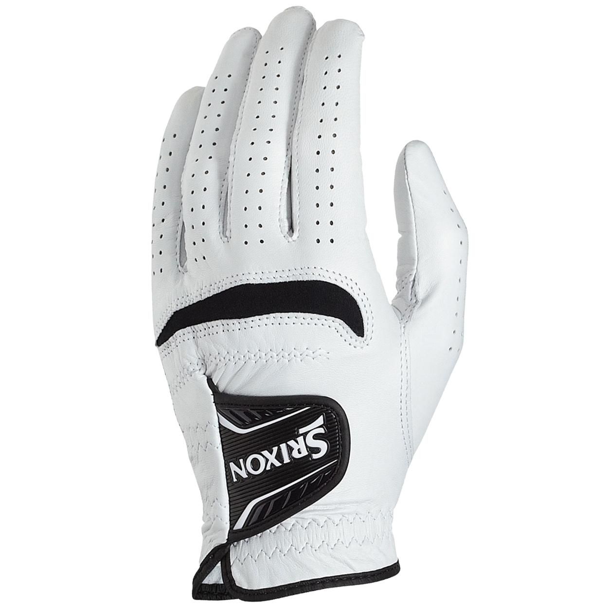 Black leather golf gloves - Srixon Men 039 S Cabretta Leather Golf Gloves