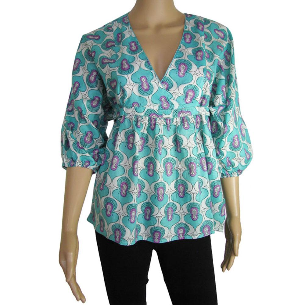 antik batik womens 39 marie 39 3 4 sleeve v tee shirt ebay. Black Bedroom Furniture Sets. Home Design Ideas